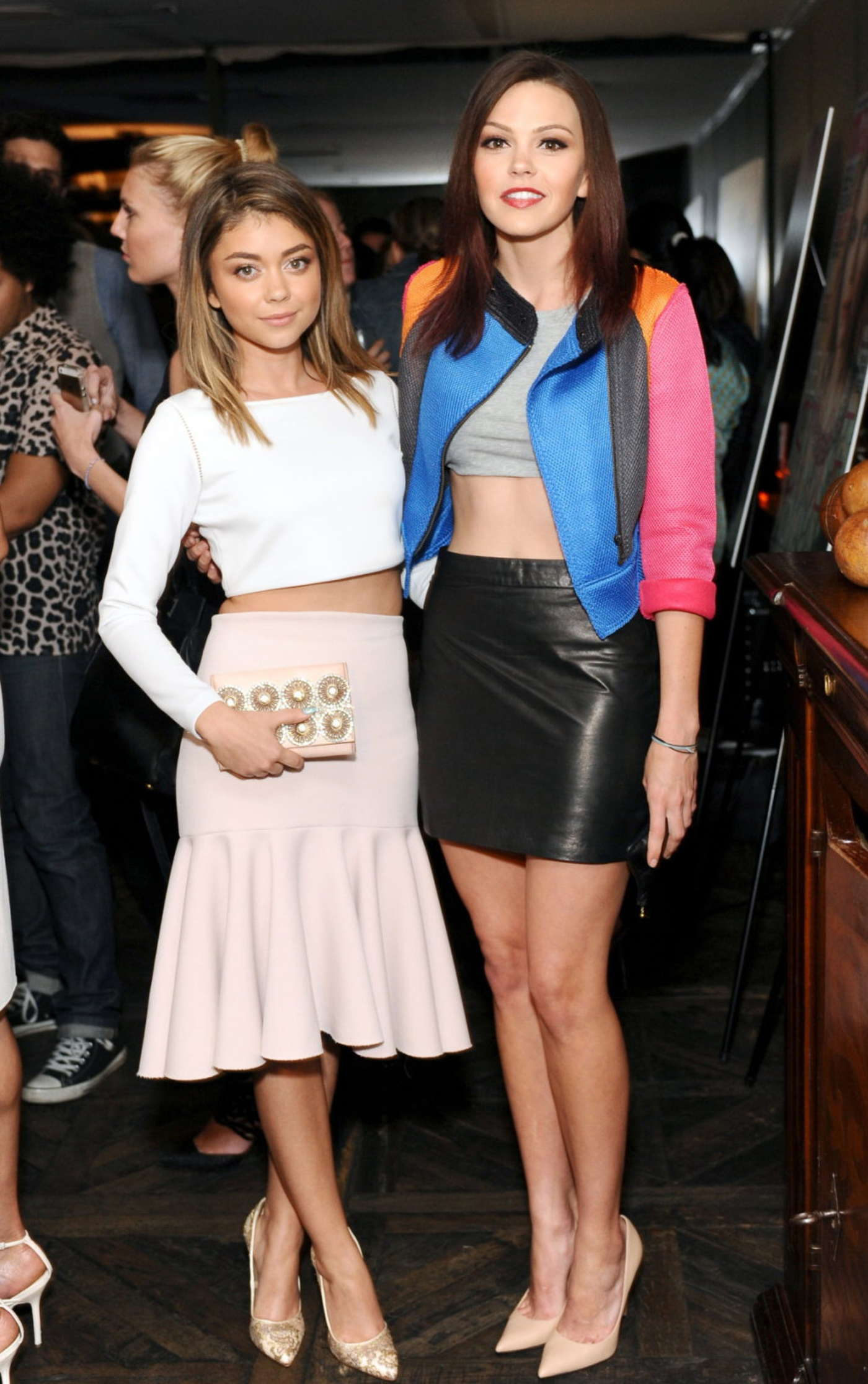 Aimee Teegarden Marie Claire Celebrates May Cover Stars in West Hollywood