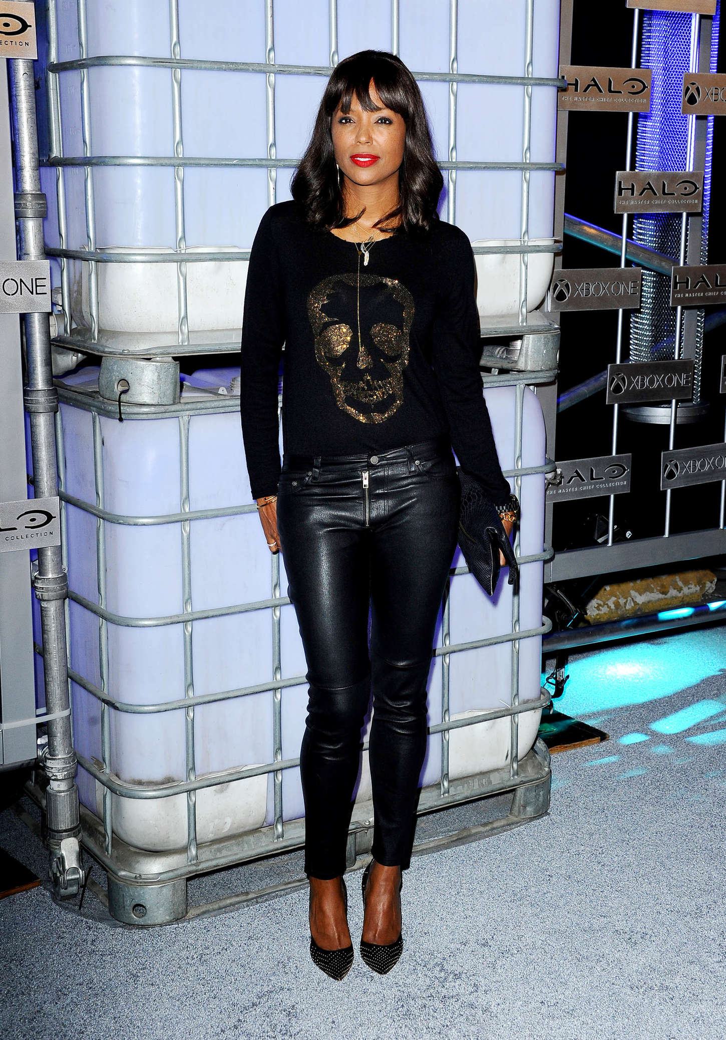 Aisha Tyler HaloFest Halo The Master Chief Collection Launch Event in Hollywood