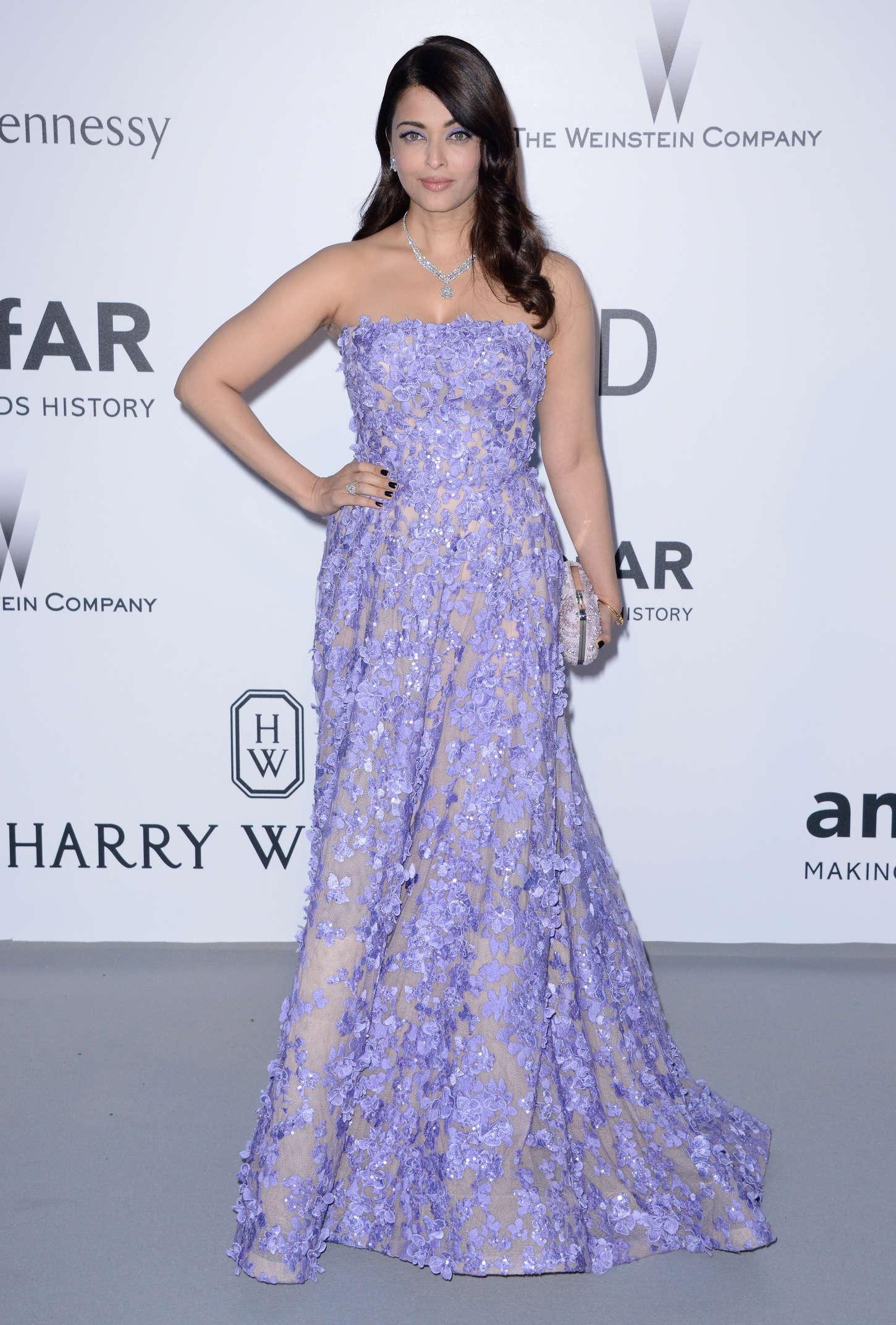 Aishwarya Rai amfARs Cinema Against AIDS Gala in Cap dAntibes