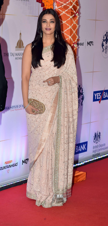 Aishwarya Rai Gala Bollywood Dinner at the Taj Palace Hotel in Mumbai