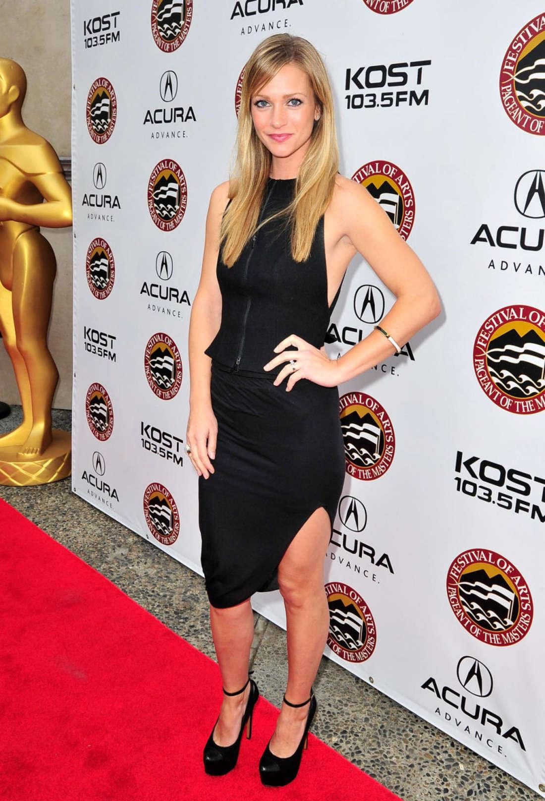 AJ Cook Acura KOST Celebrity Benefit Concert in Laguna Beach