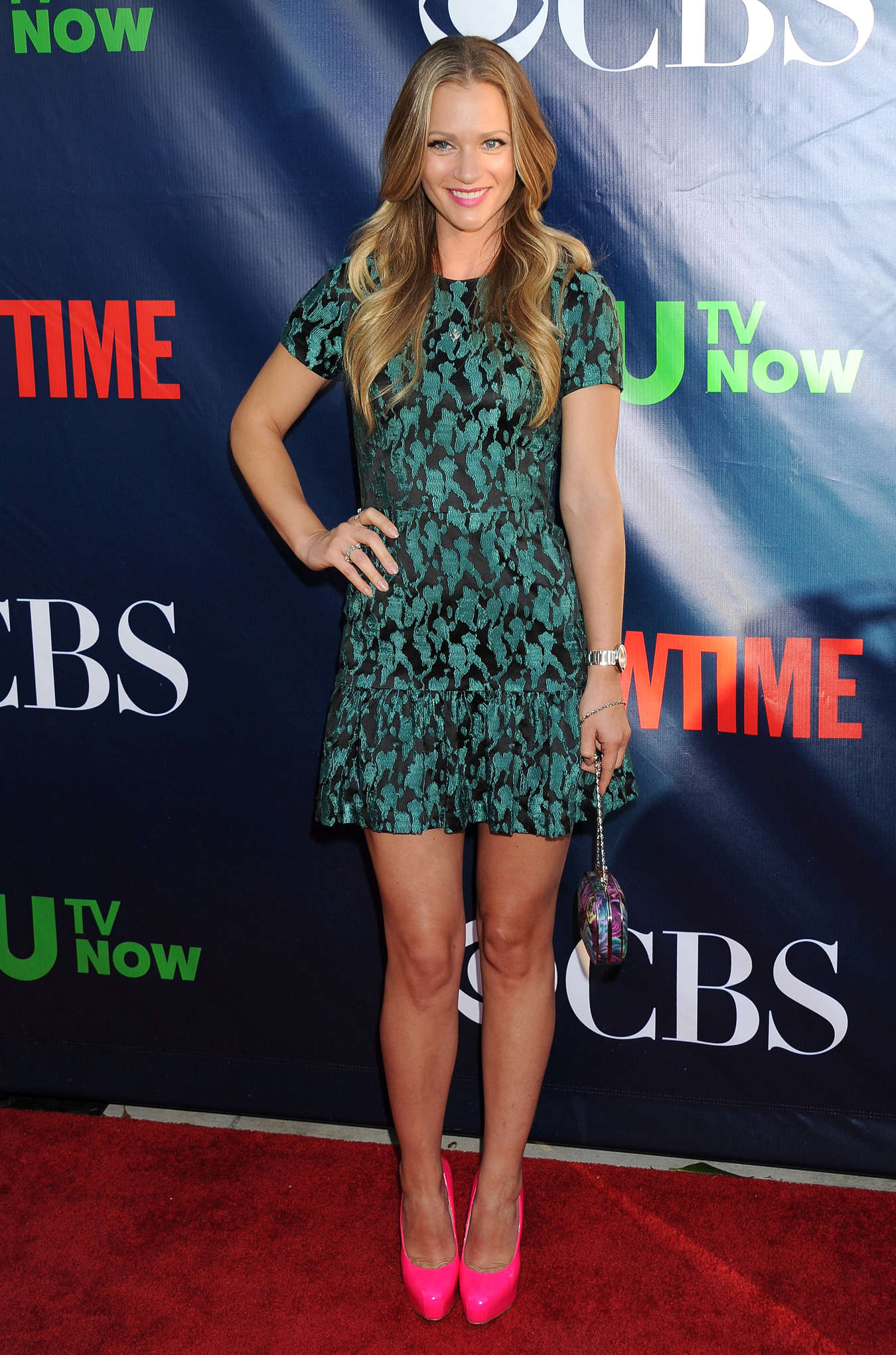 AJ Cook at TCA Summer Press Tour CBS CW And Showtime Party
