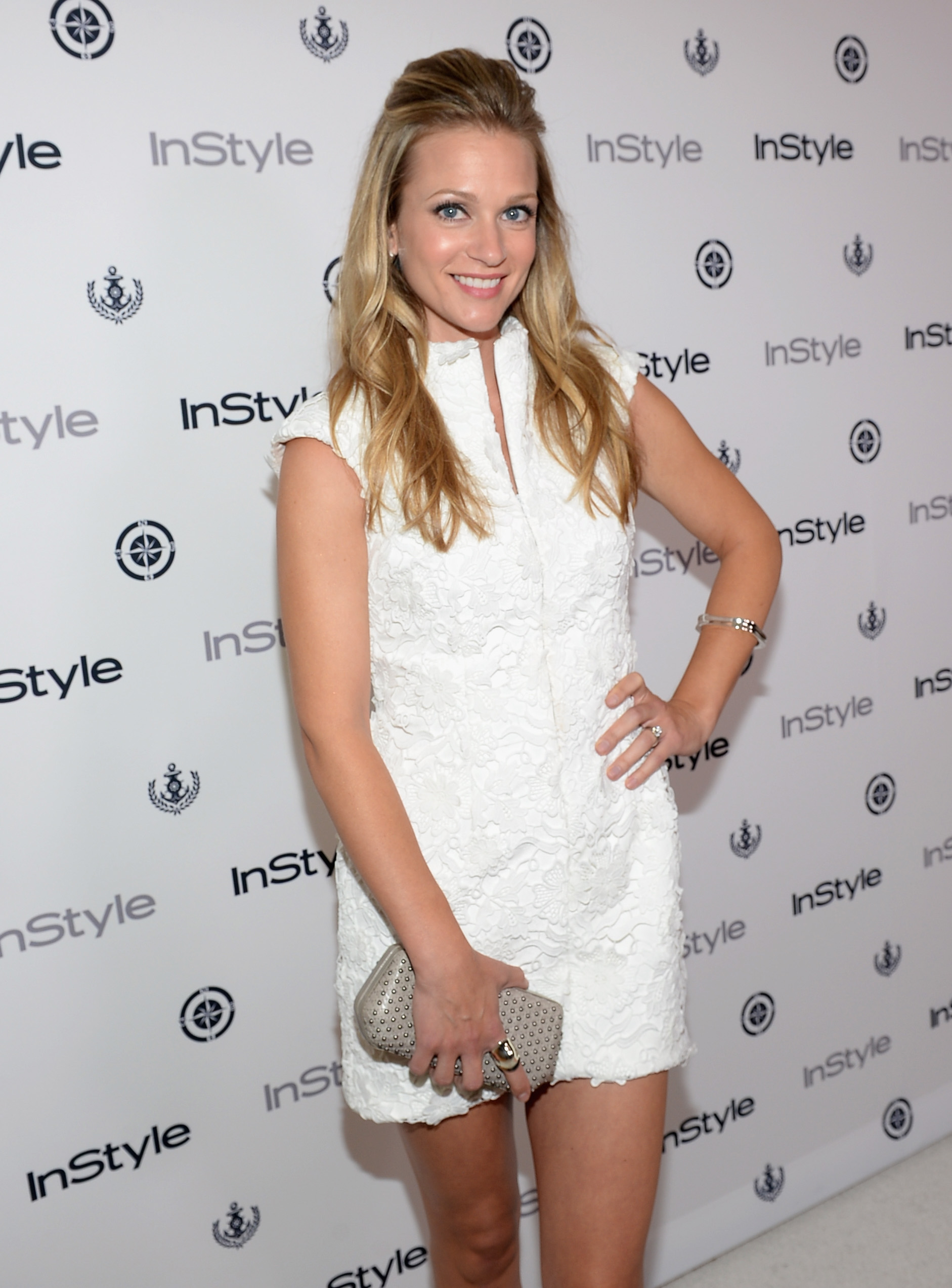AJ Cook InStyle Summer Soiree