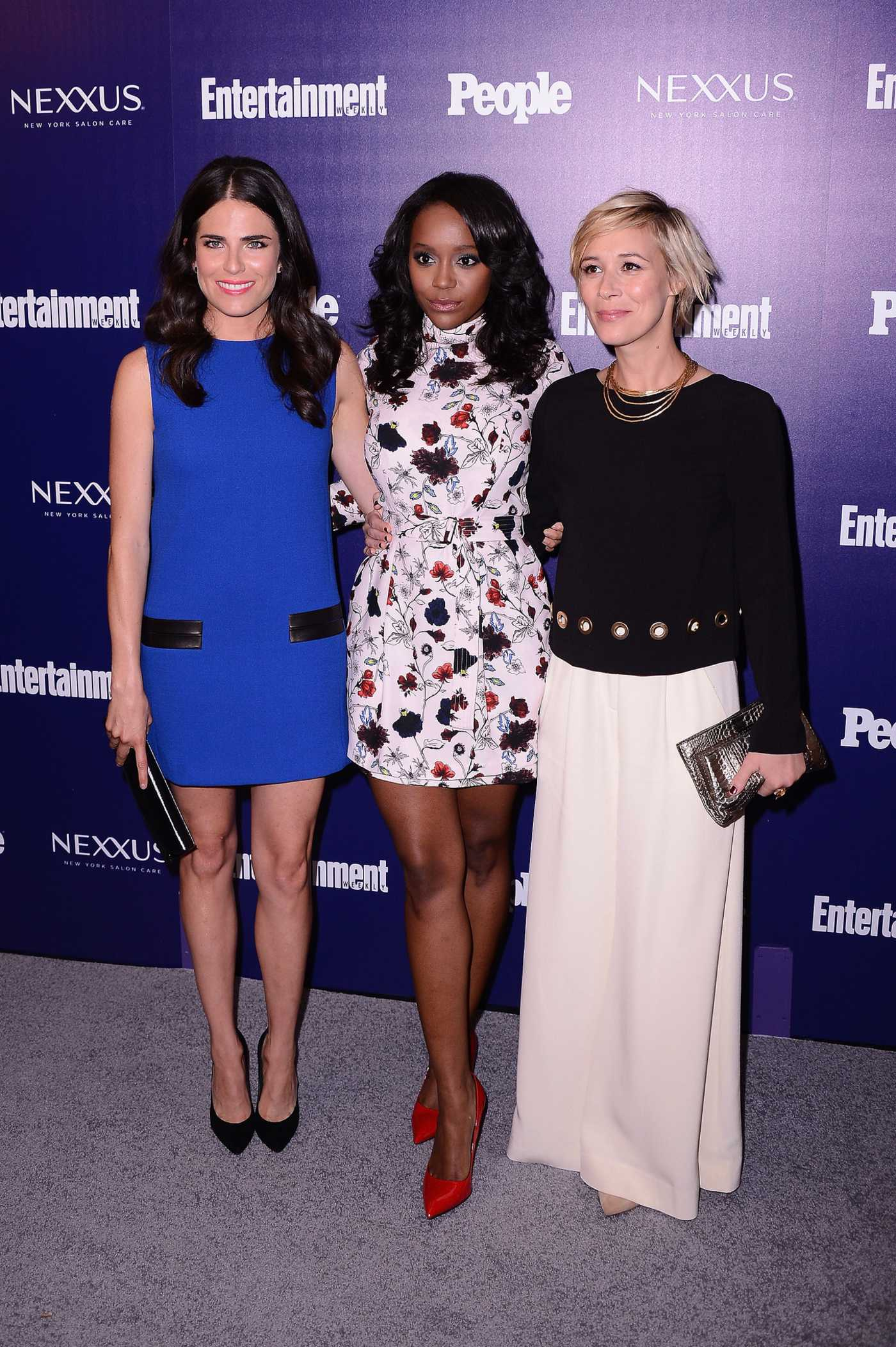 Aja Naomi King Entertainment Weekly and PEOPLE Celebration of The New York Upfronts