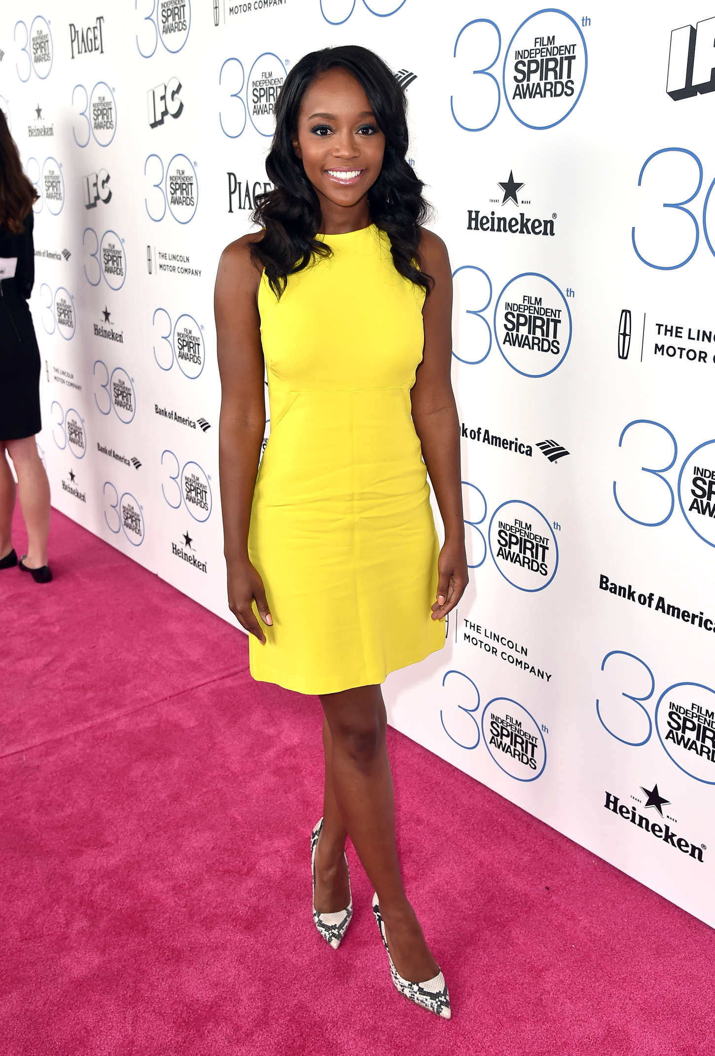 Aja Naomi King Film Independent Spirit Awards in Santa Monica