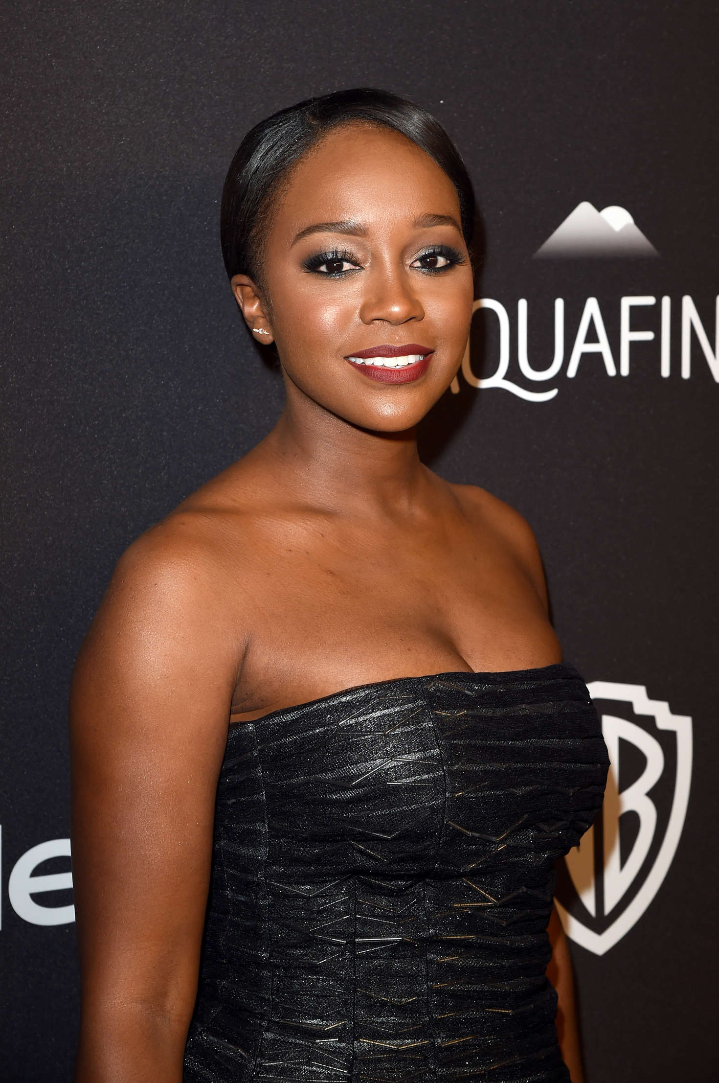 Aja Naomi King InStyle and Warner Bros Golden Globe Awards Post-Party in Beverly Hills
