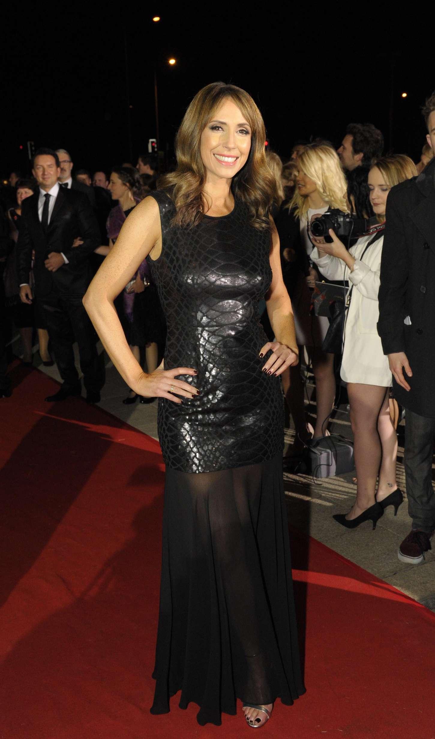 Alex Jones BAFTA Cymru Awards in Cardiff