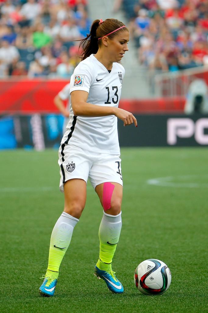 Alex Morgan FIFA Womens World Cup Group D Match in Winnipeg