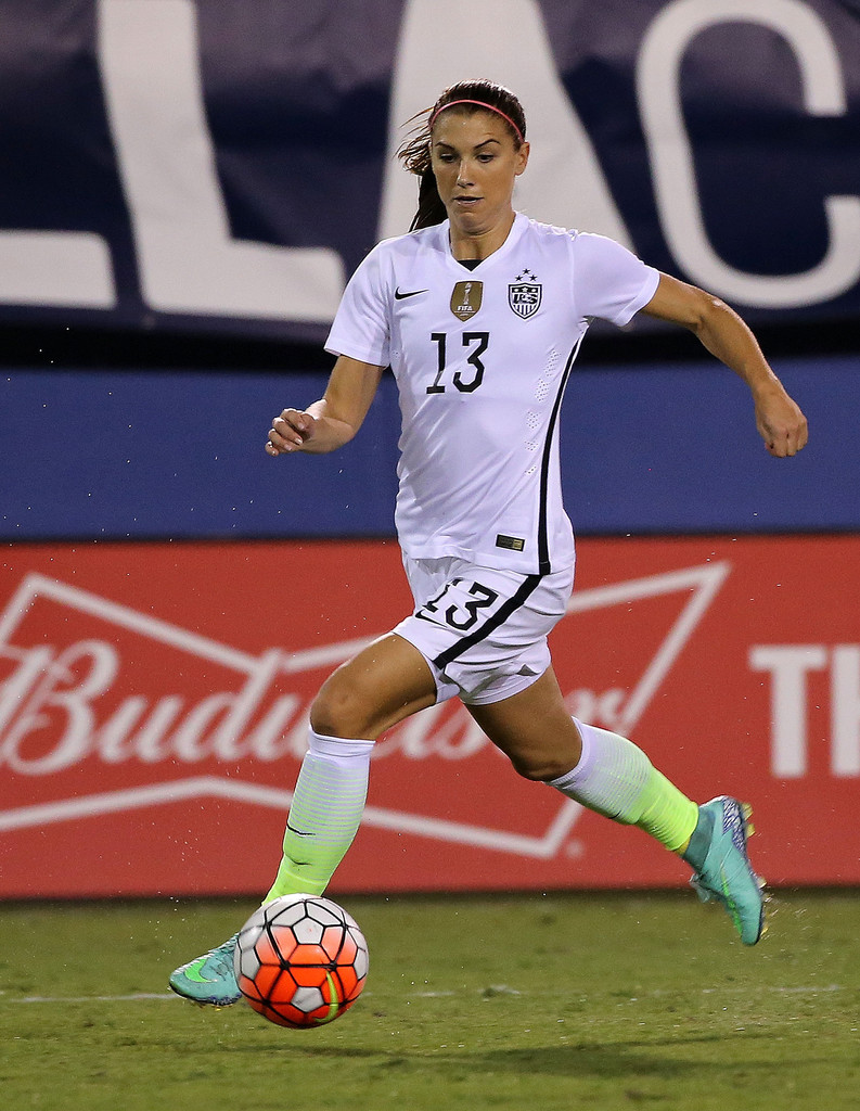 Alex Morgan US v Germany SheBelieves Cup in Boca Raton