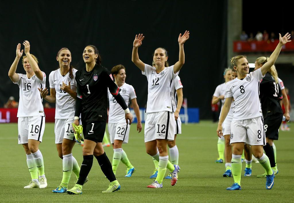 Alex Morgan USA v Germany FIFA Womens World Cup Semi-Final in Montreal