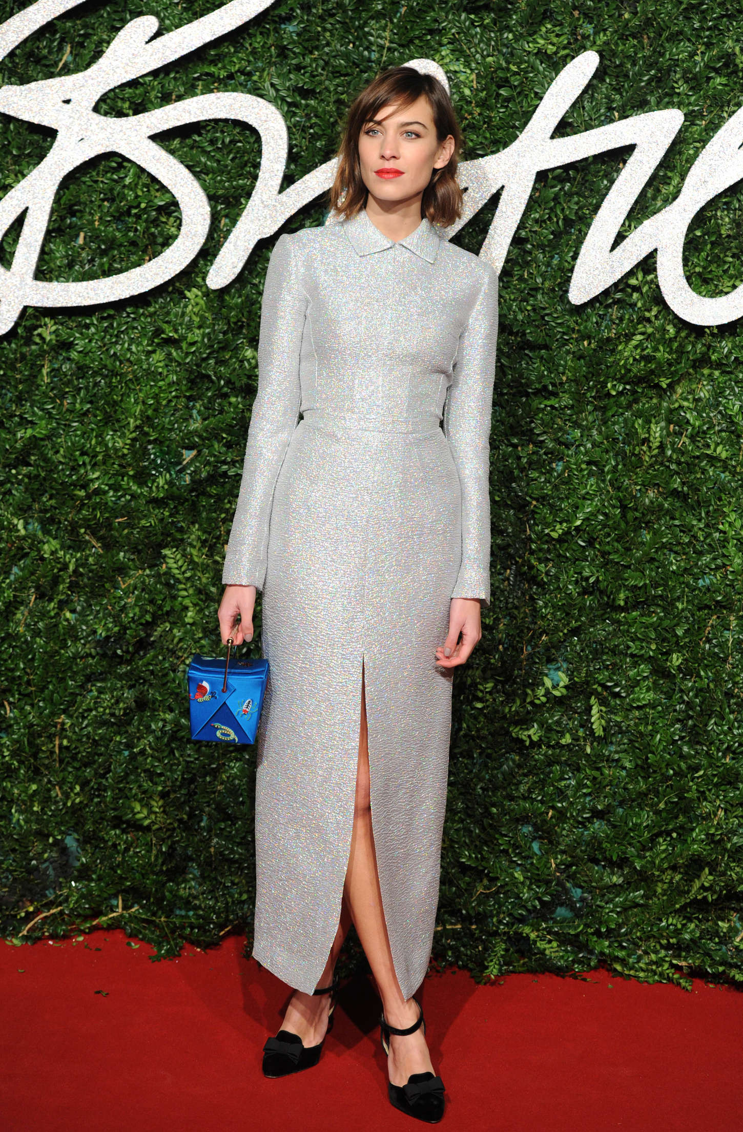 Alexa Chung British Fashion Awards in London