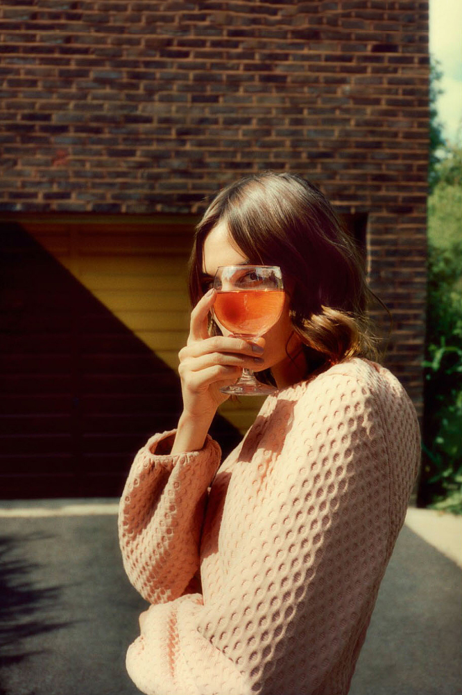 Alexa Chung by Tom Craig Photoshoot for Glamour France