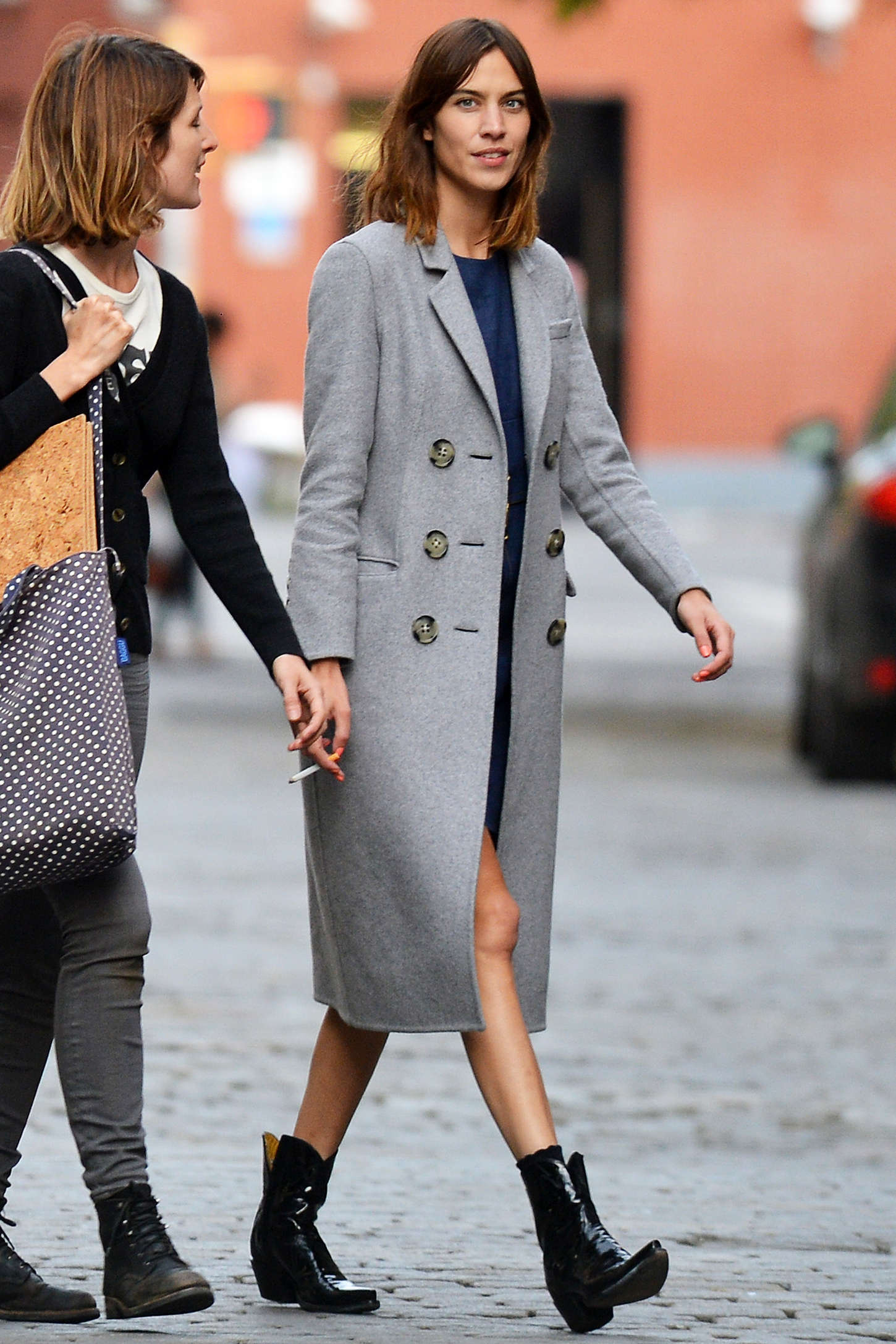 Alexa Chung go out in New York
