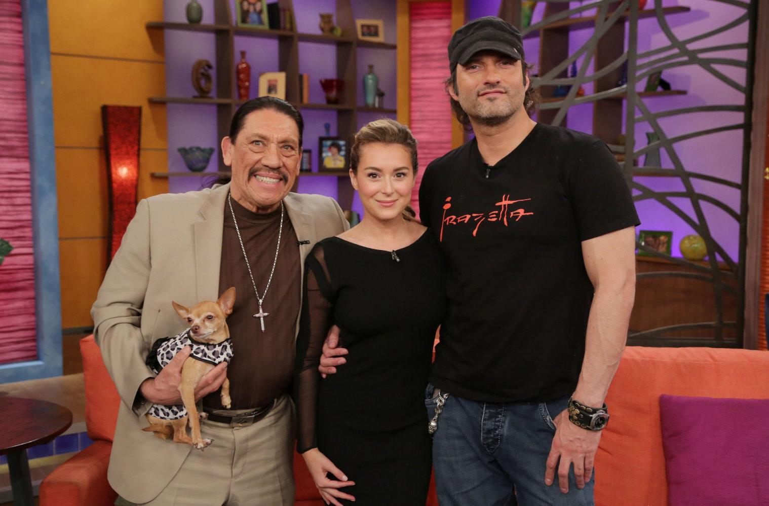 Alexa Vega at Univisions Despierta America in Miami