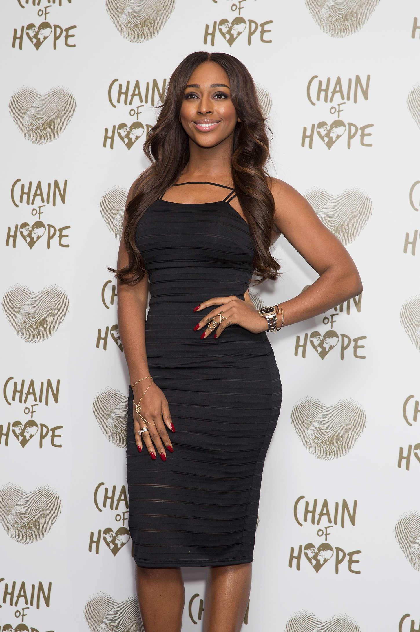 Alexandra Burke Chain of Hope Gala Ball in London