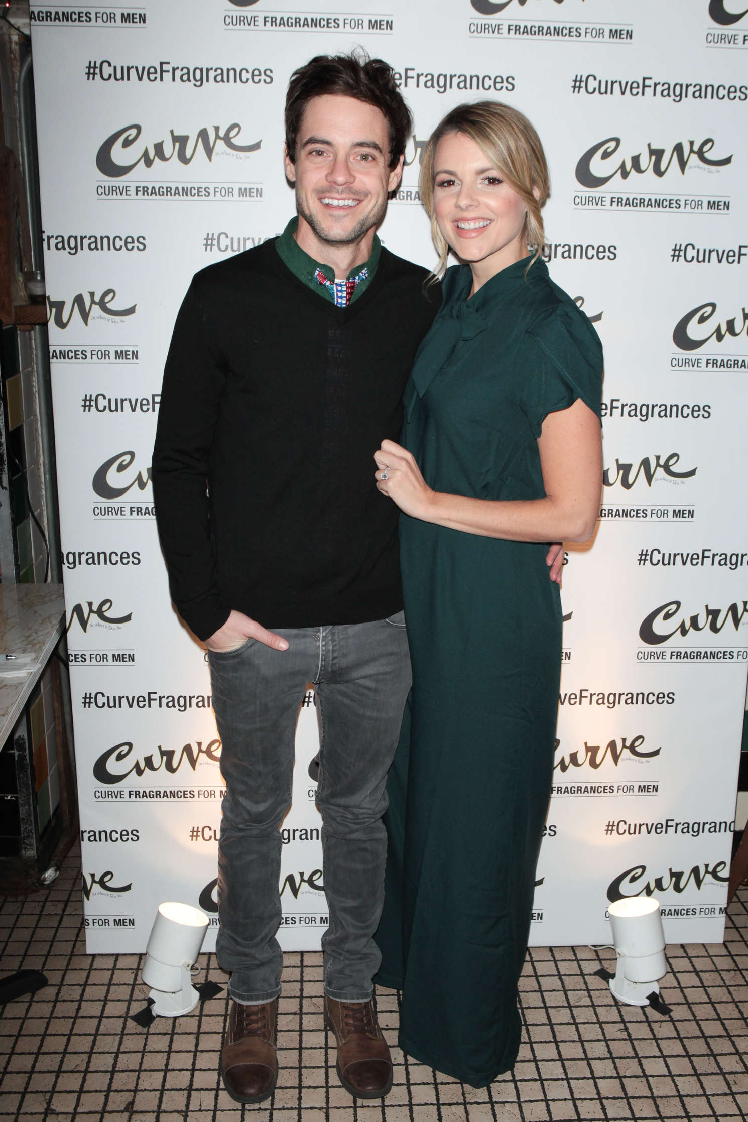 Ali Fedotowsky Hosts Curve Fragrances For Men TriviaNYC Game Night in New York