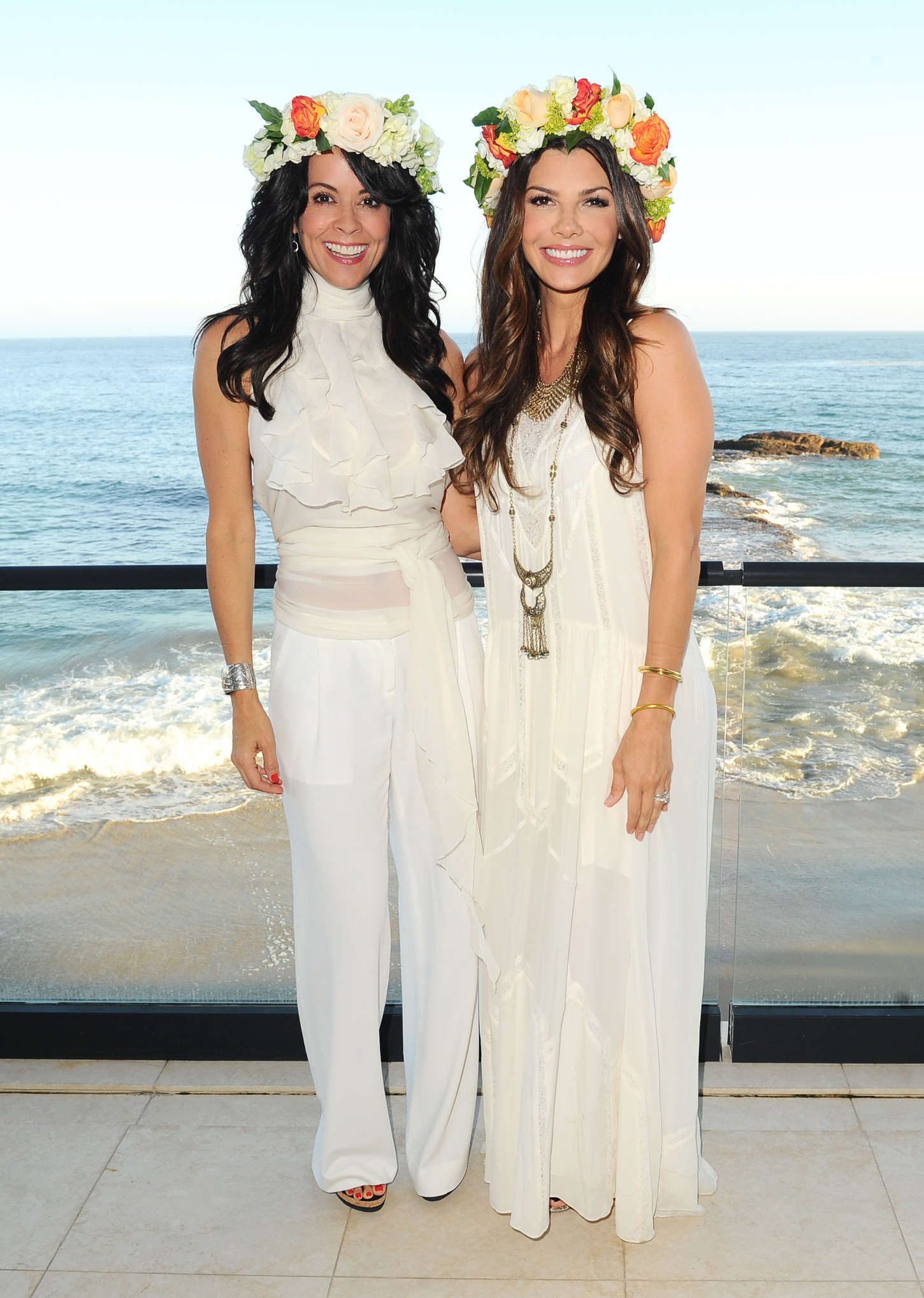 Ali Landry Moll Anderson Goddess Party in Malibu