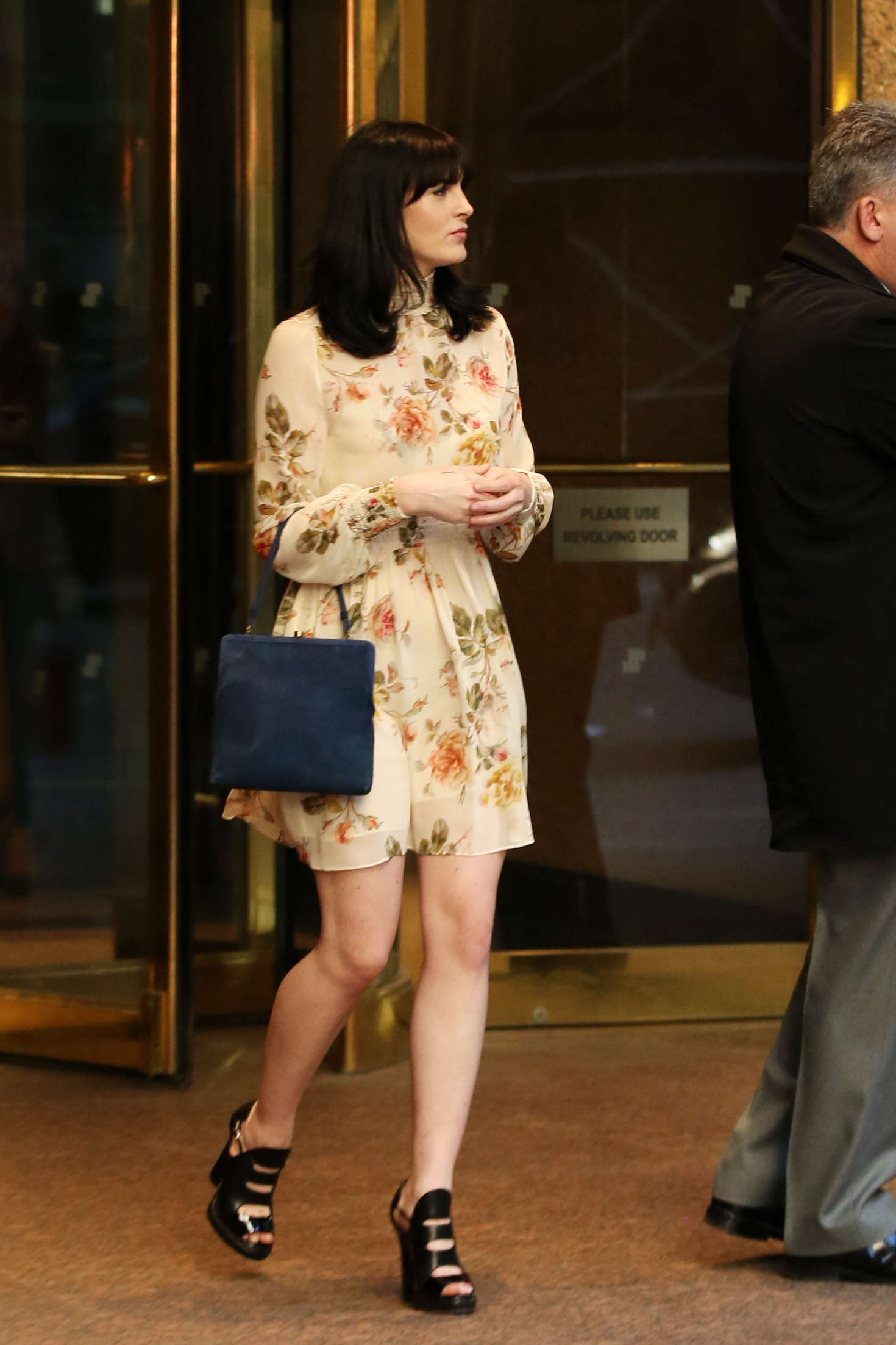 Ali Lohan in Short Dress out in New York