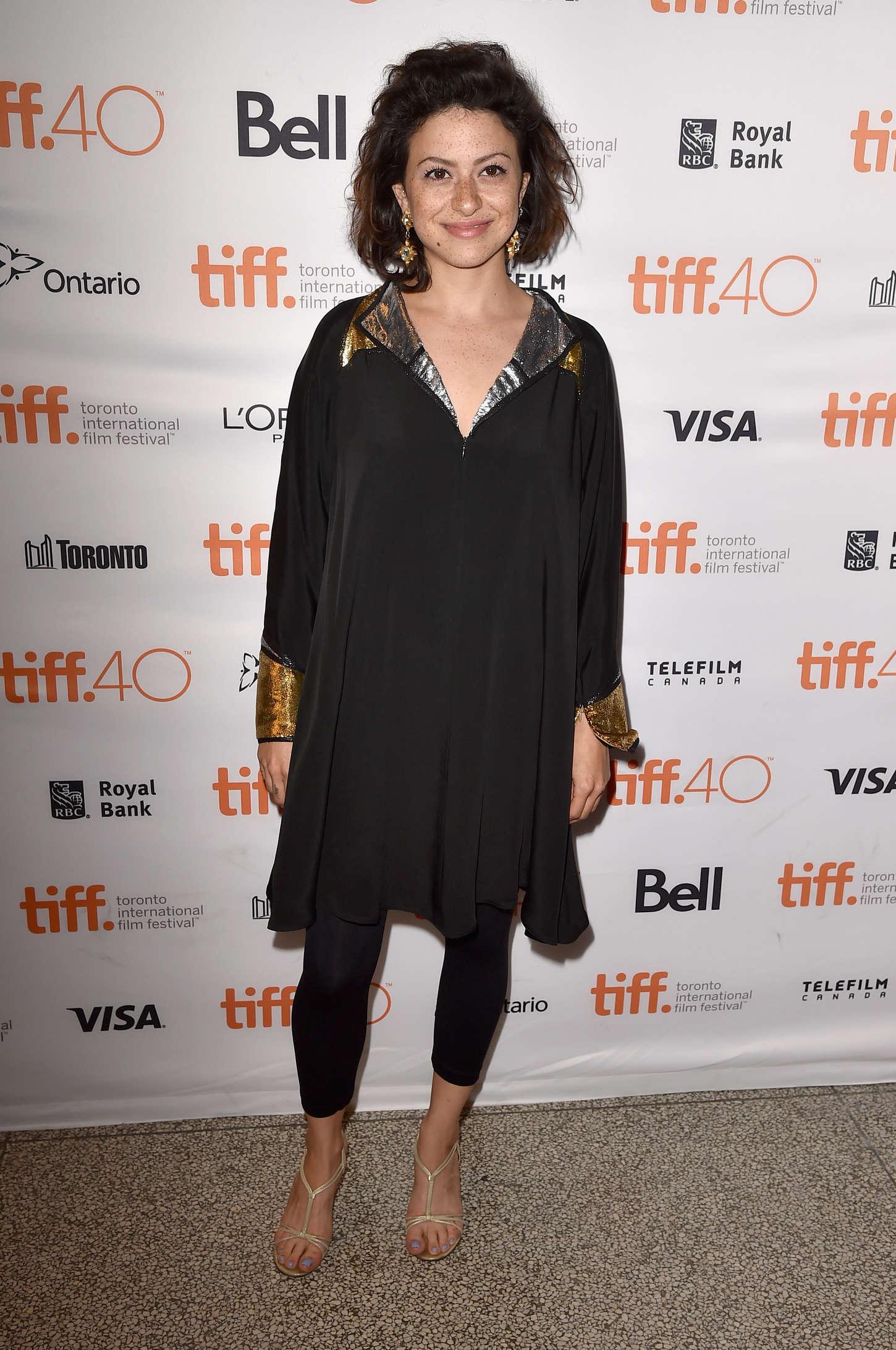 Alia Shawkat The Into the Forest Premiere at TIFF in Toronto