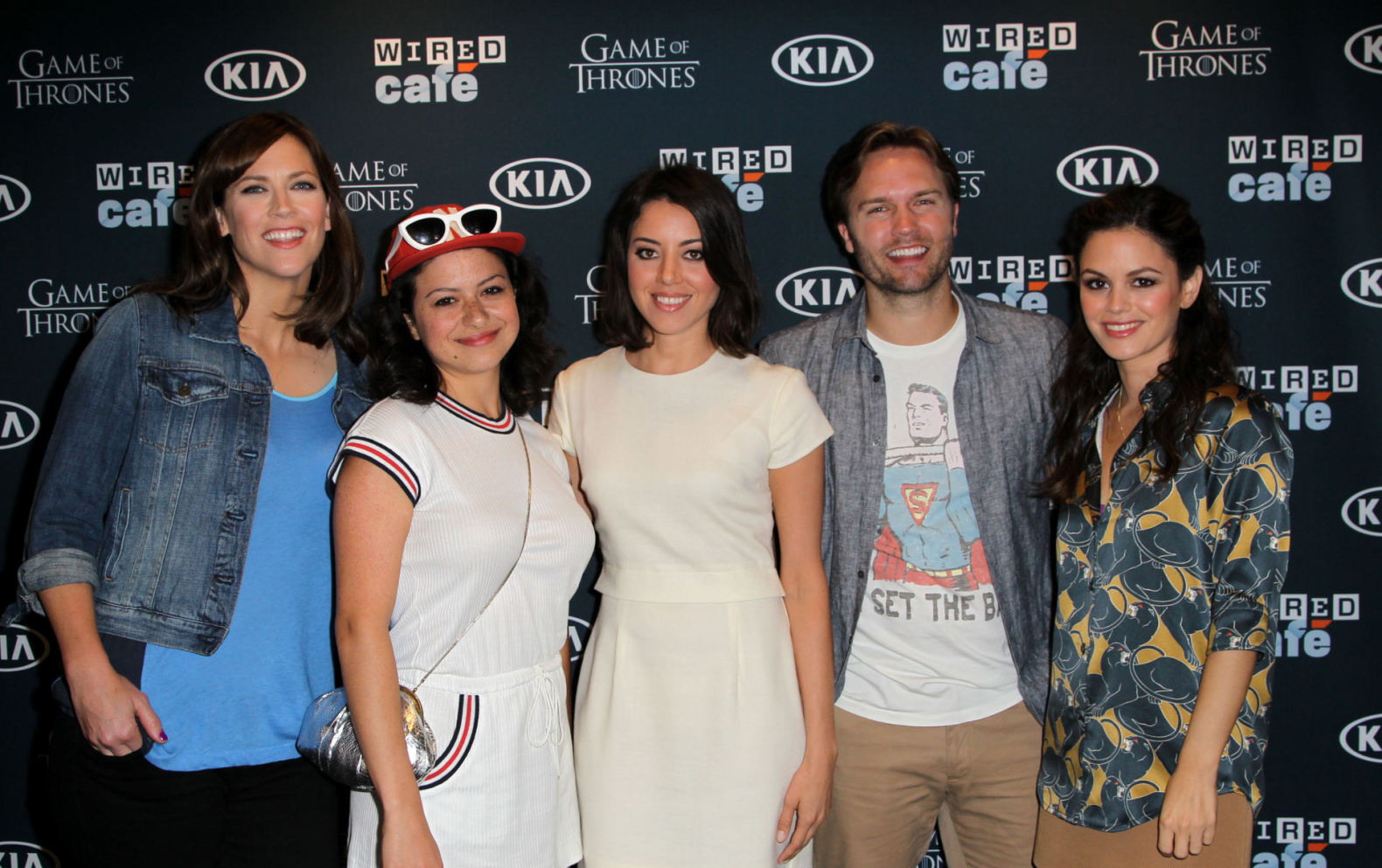 Alia Shawkat WIRED Cafe at Comic-Con in San Diego
