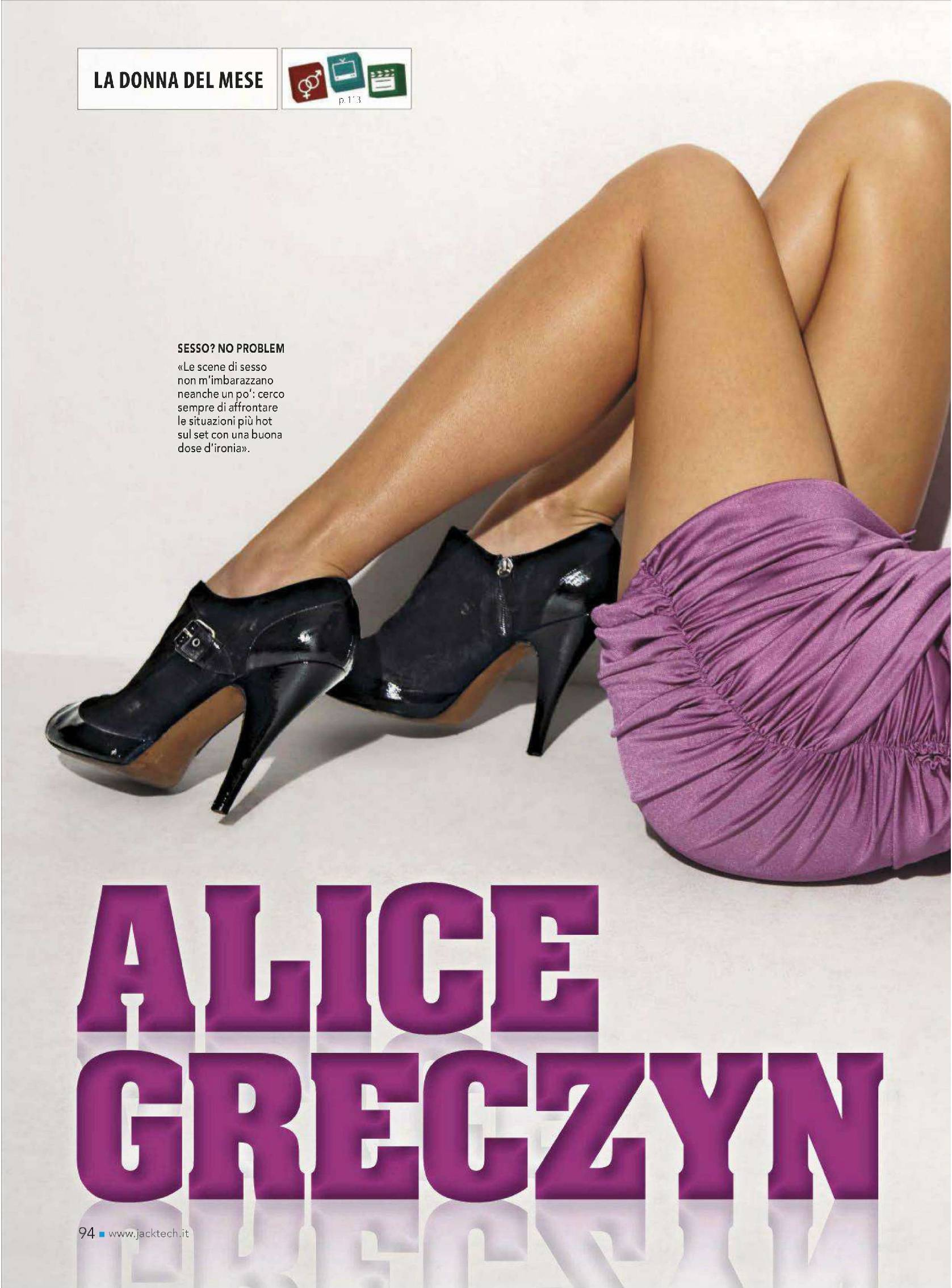 Alice Greczyn Jack Magazine Italy