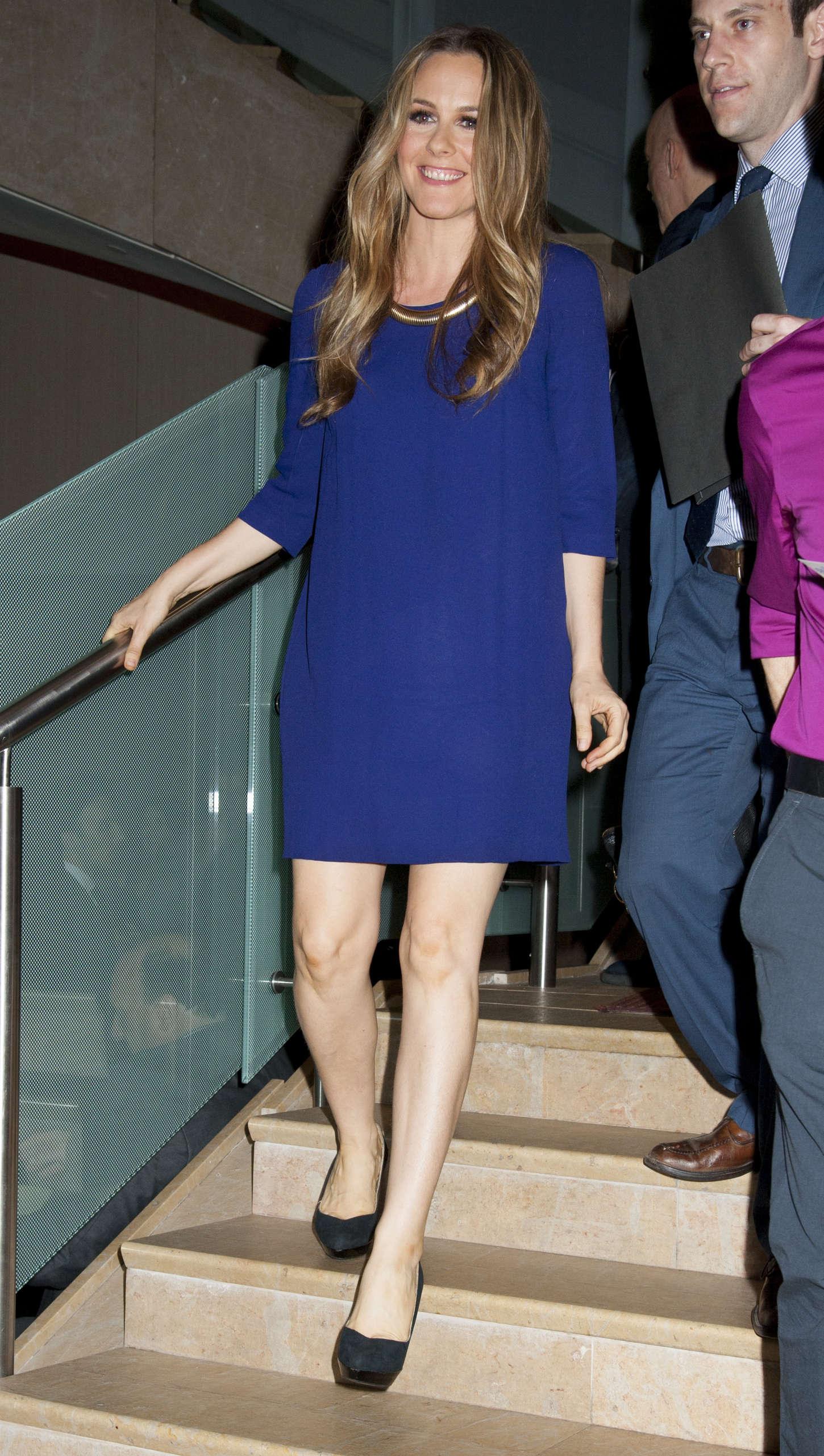 Alicia Silverstone Annual Lucille Lortel Awards in New York
