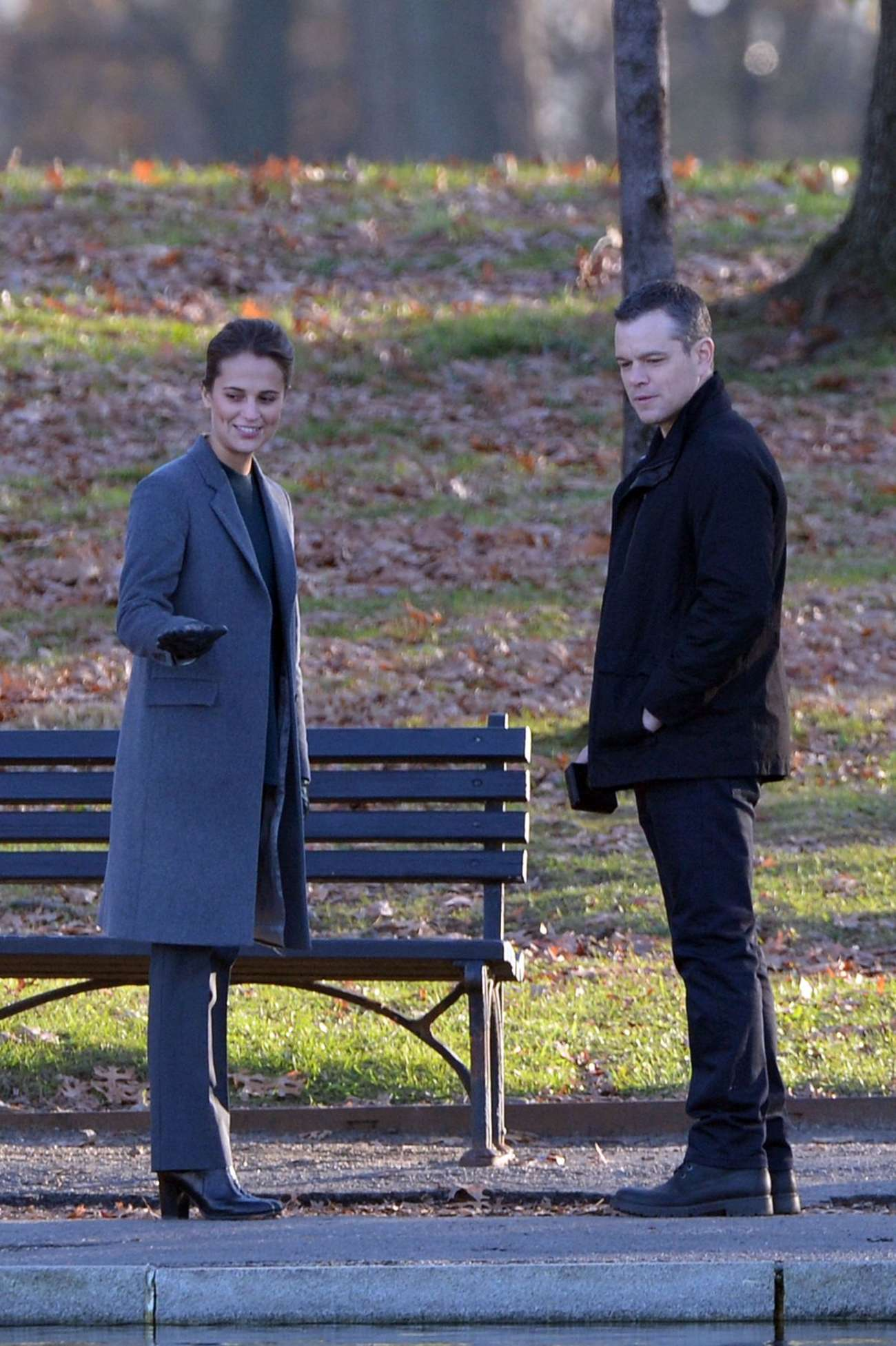 Alicia Vikander Filming Untitled Bourne Movie in Washington