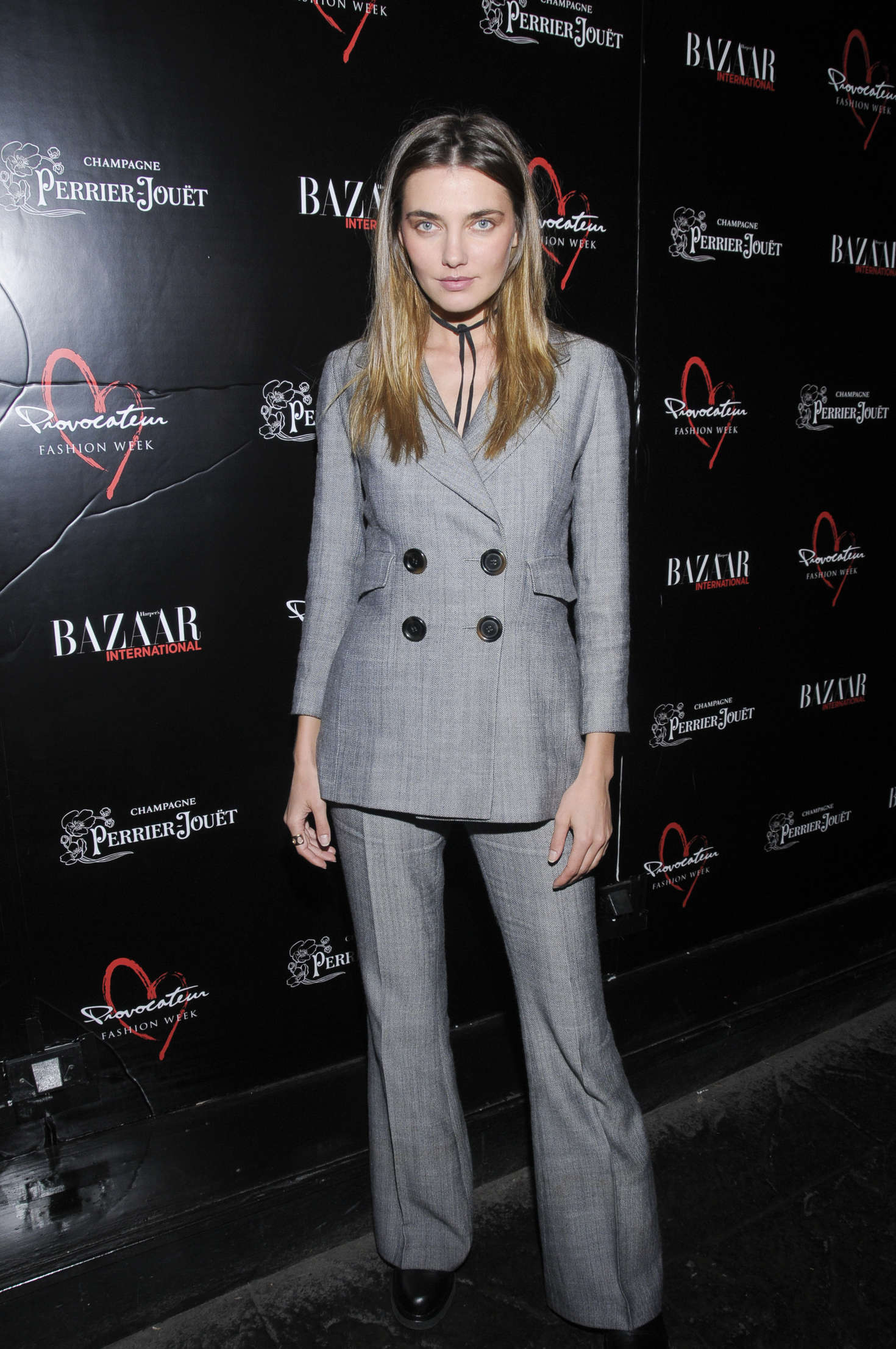 Alina Baikova Harpers Bazaar International Celebrates Fashion Cinema at Provocateur in New York