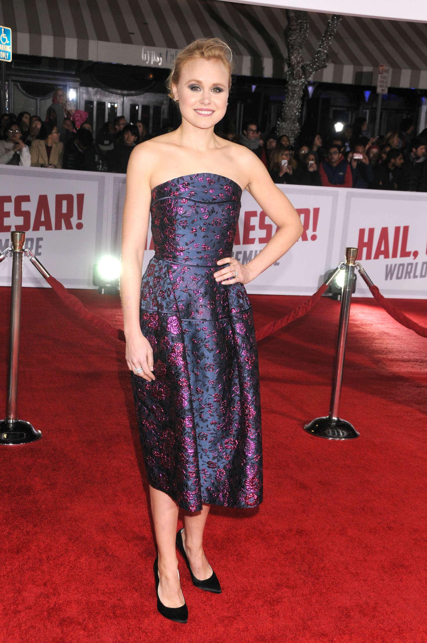 Alison Pill Hail Caesar Premiere in Westwood