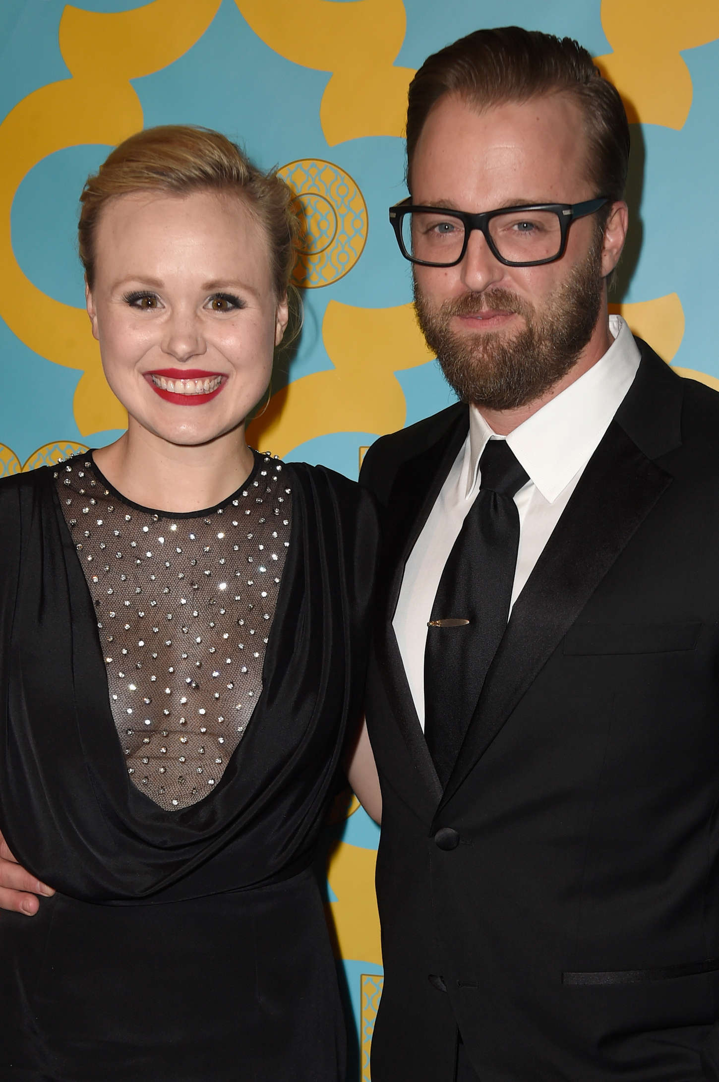 Alison Pill HBO's Golden Globe Awards After Party