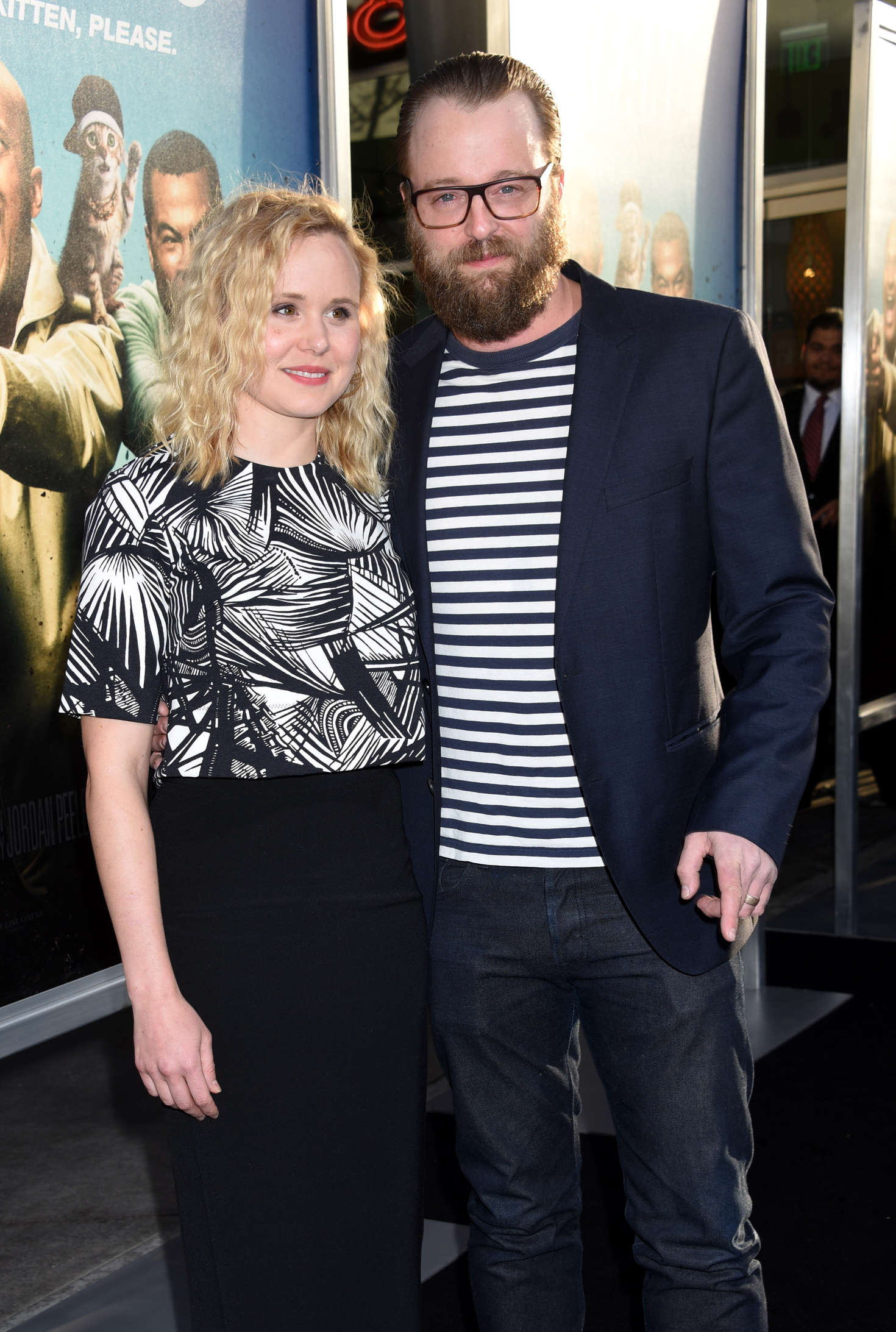 Alison Pill Keanu Premiere in Hollywood