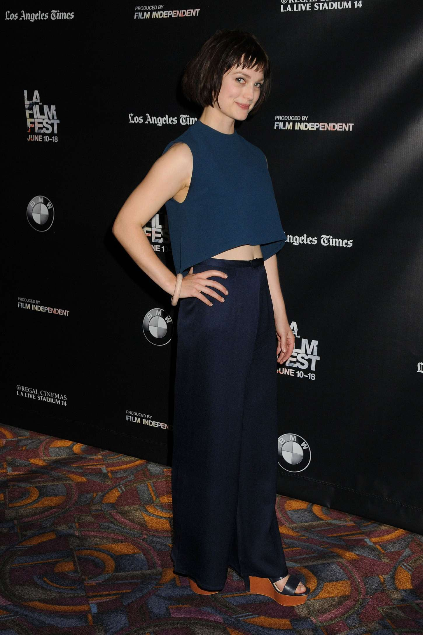 Alison Sudol Band Of Robbers Premiere at Los Angeles Film Festival