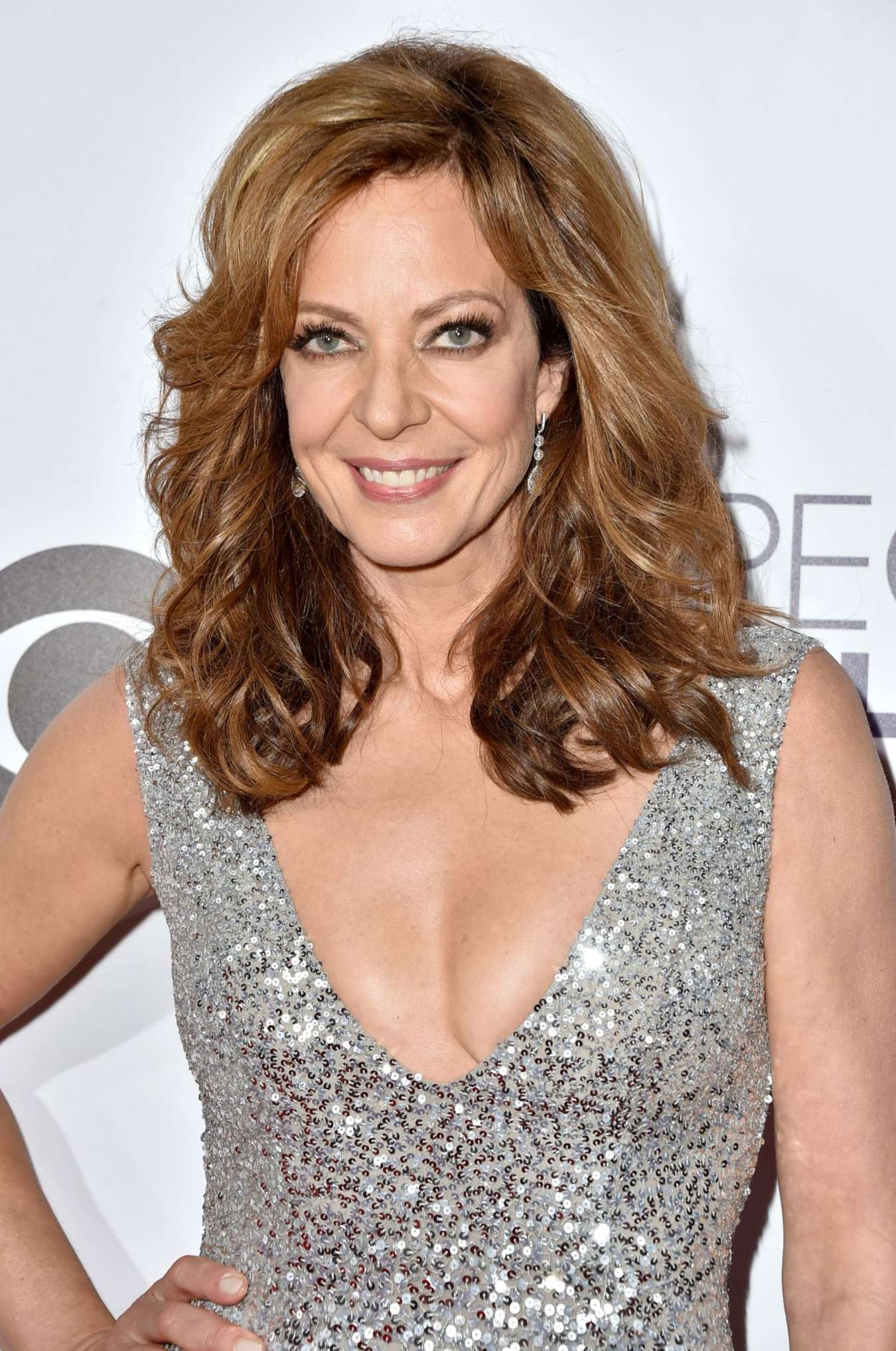 Allison Janney Annual Peoples Choice Awards in Los Angeles