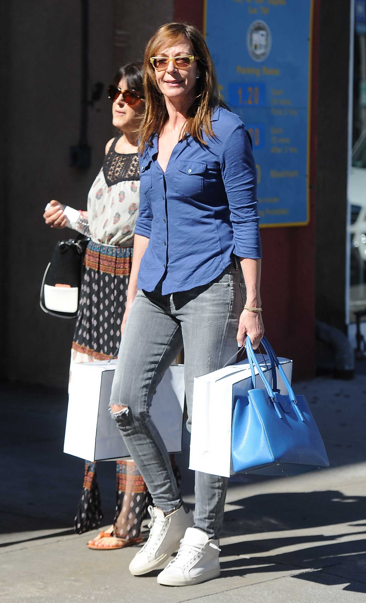 Allison Janney Shopping in Los Angeles