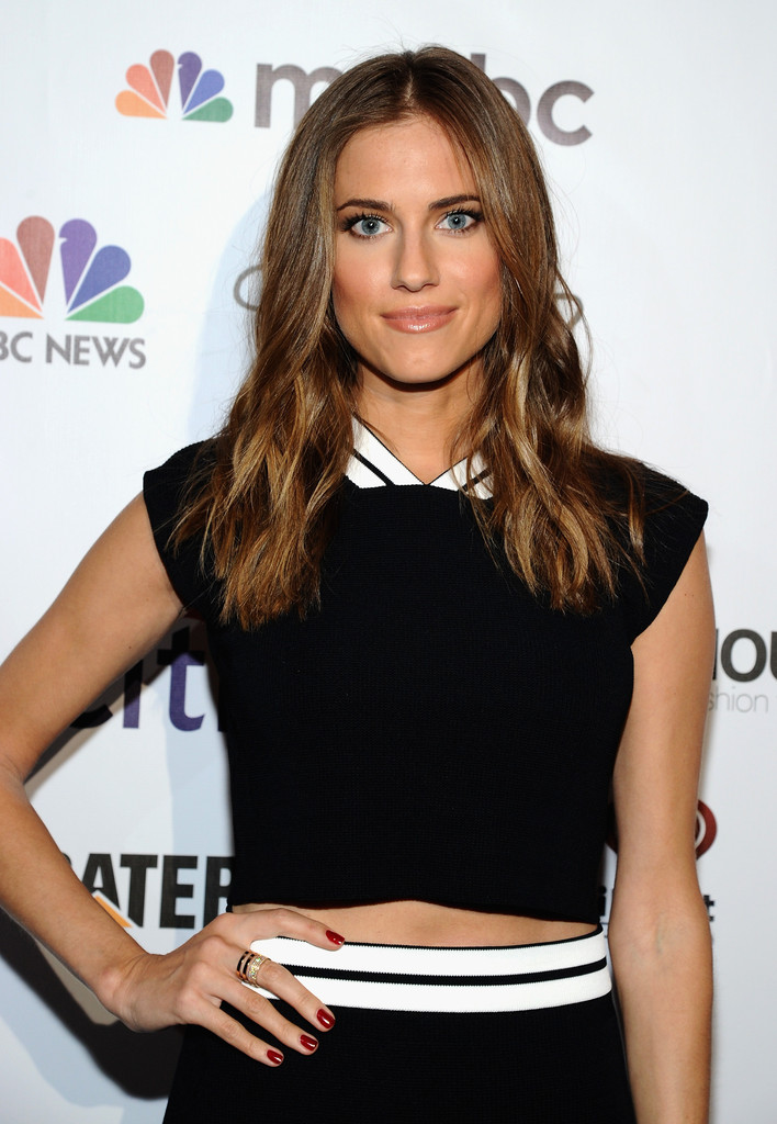 Allison Williams at Global Citizen Festival VIP Lounge in New York