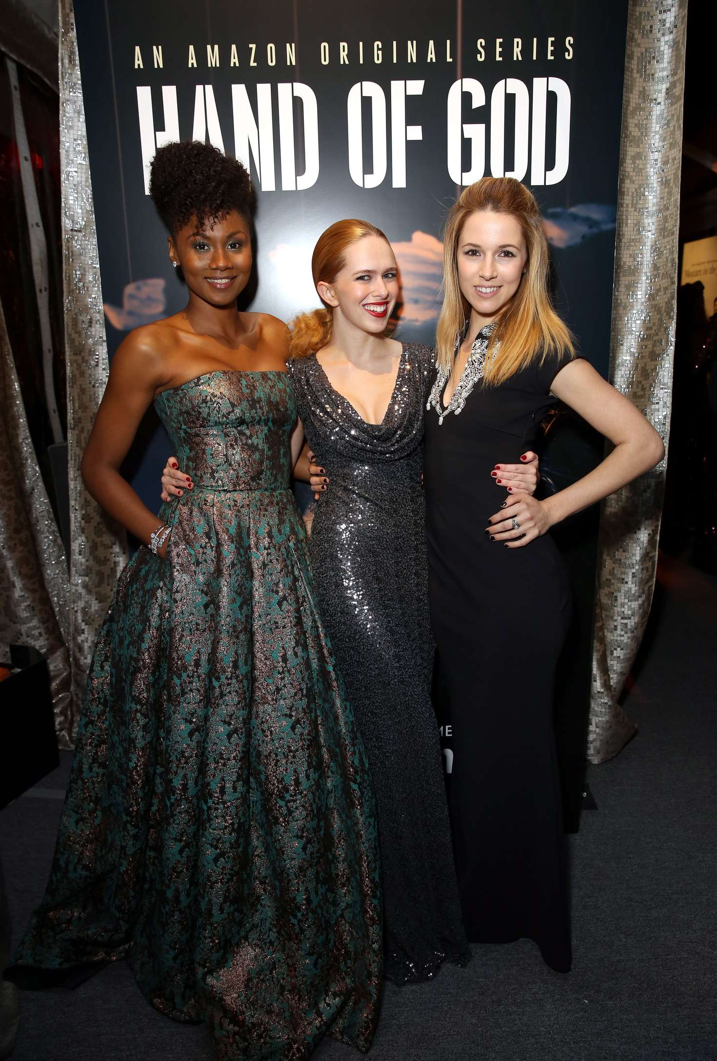 Alona Tal Amazon Studios Golden Globe Awards Post-Party in Beverly Hills