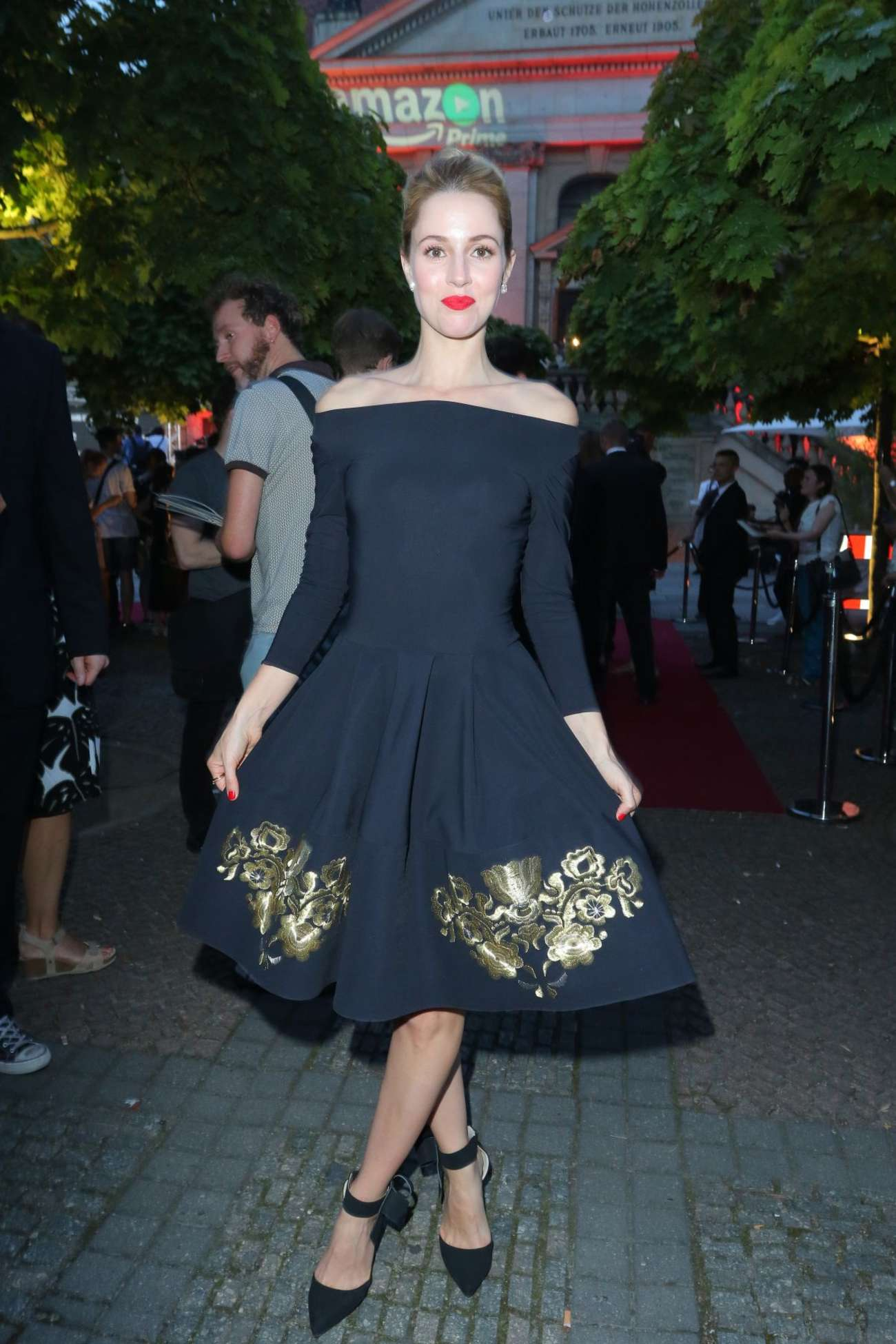 Alona Tal Hand Of God Premiere in Berlin