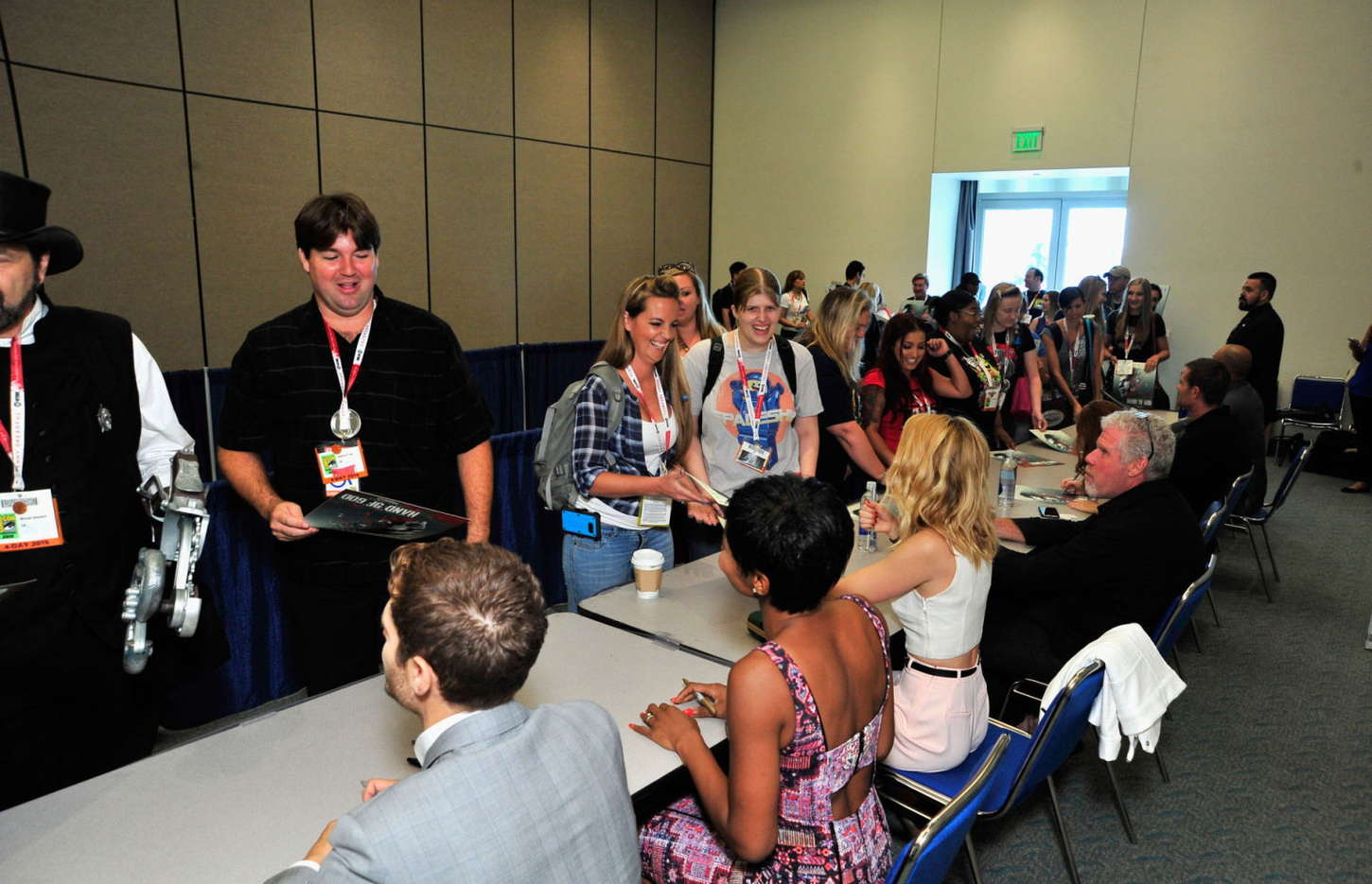 Alona Tal Hand of God Presentation at Comic Con in San Diego