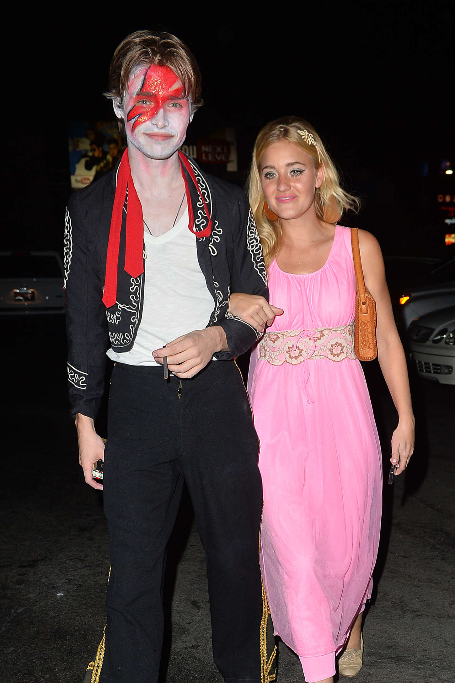 Aly and AJ Michalka Halloween Party at Hyde in West Hollywood