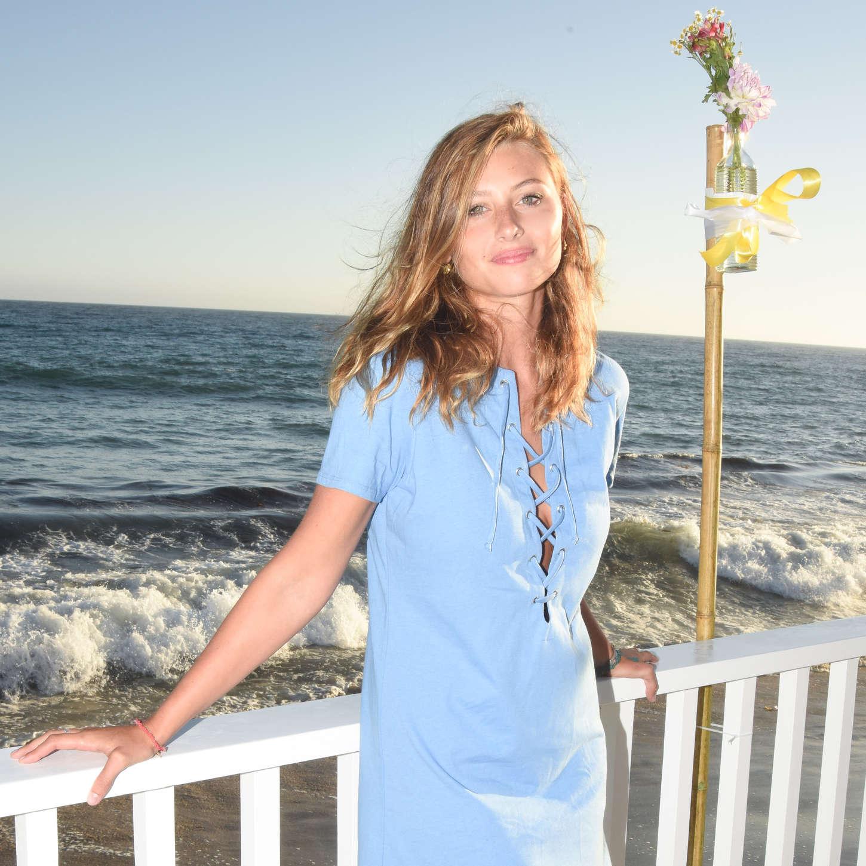 Aly Michalka RxArt Beach Party in Malibu
