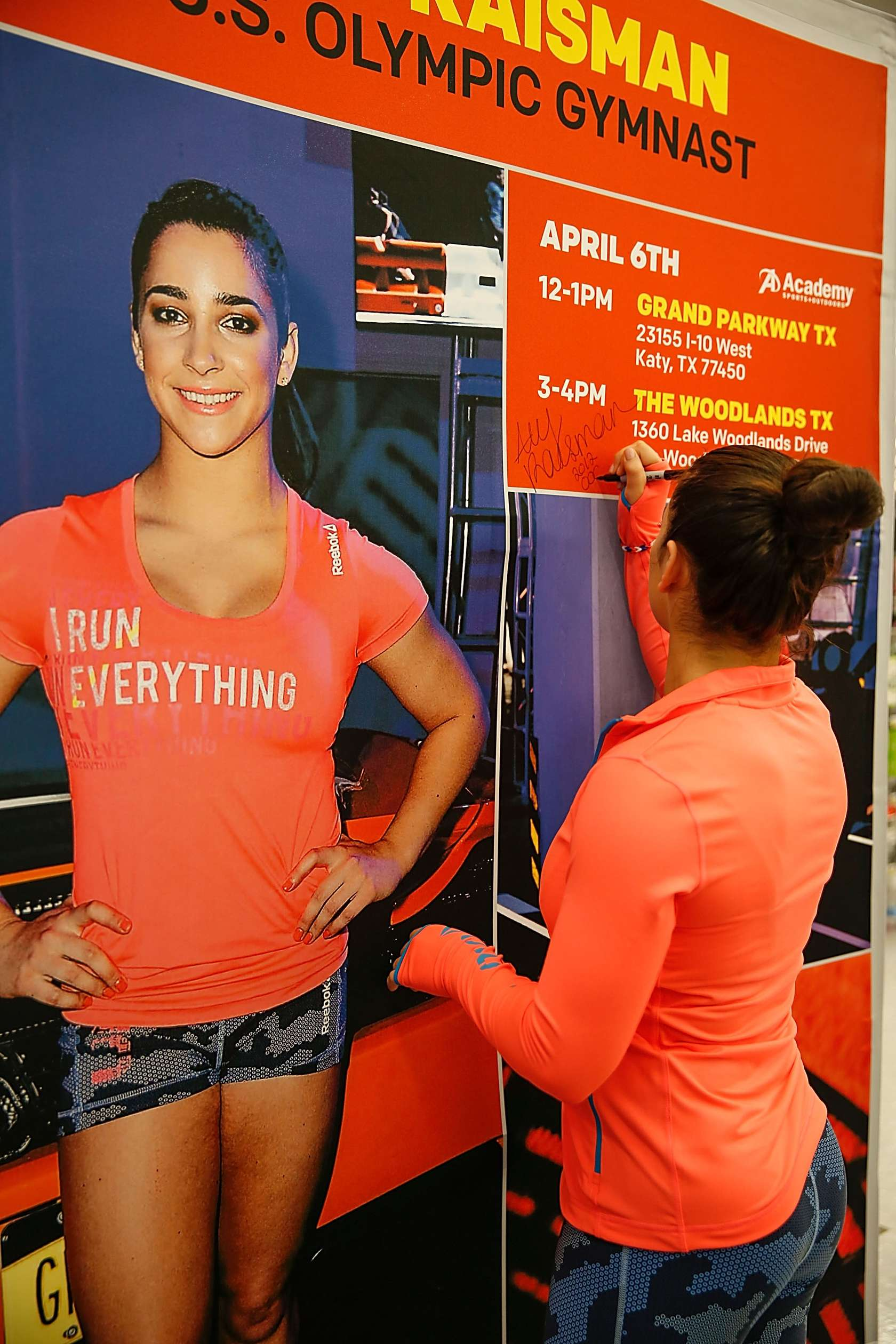Aly Raisman Academy Sports