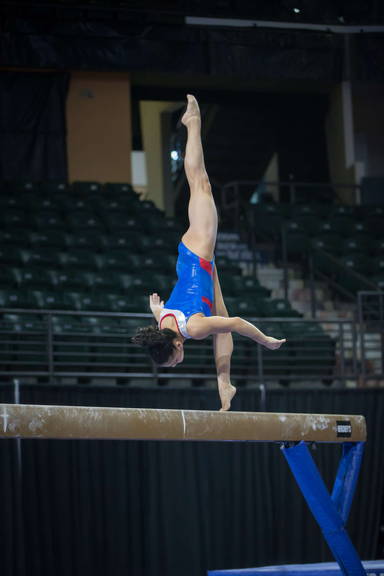Aly Raisman Pacific Rim Gymnastics Championships Podium Training in Everett
