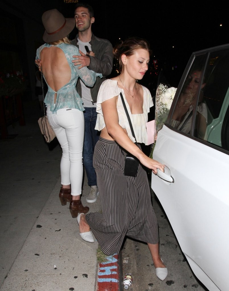 Alyson Amanda AJ Michalka at Pikey bar in Hollywood