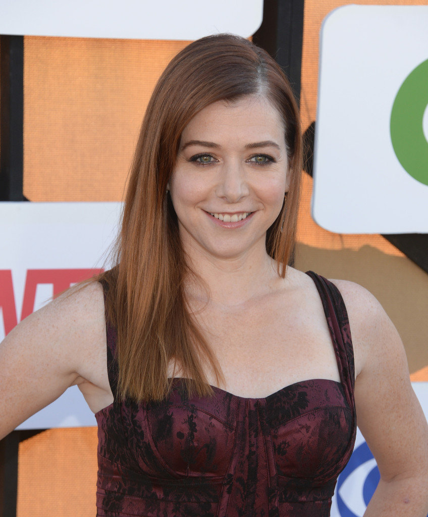 Alyson Hannigan CW CBS And Showtime Summer TCA Party