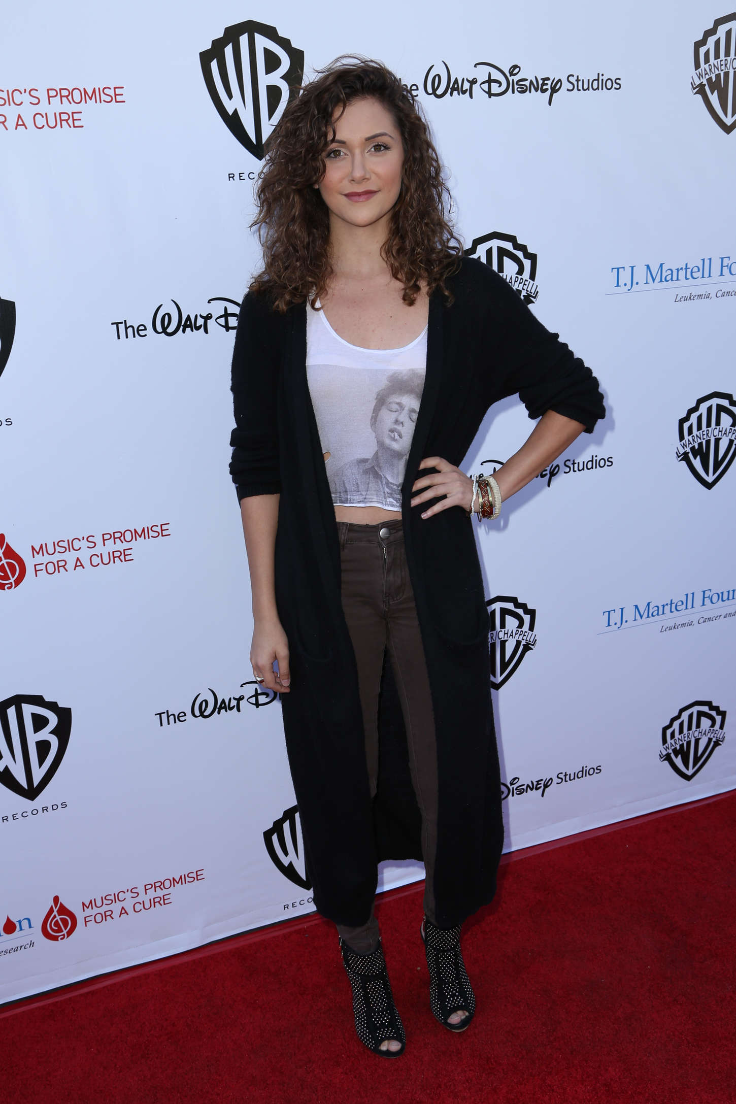 Alyson Stoner T.J. Martell Foundation Family Day in Studio City