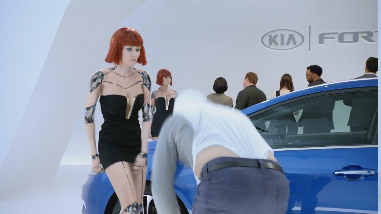 Alyssa Campanella KIA Commercial