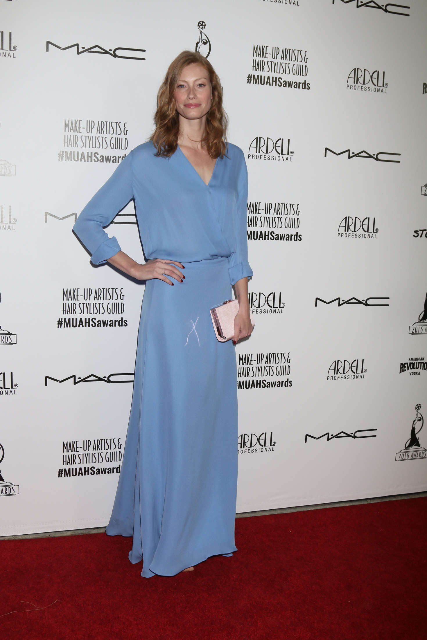 Alyssa Sutherland Make-Up Artist and Hair Stylist Guild Awards in Los Angeles
