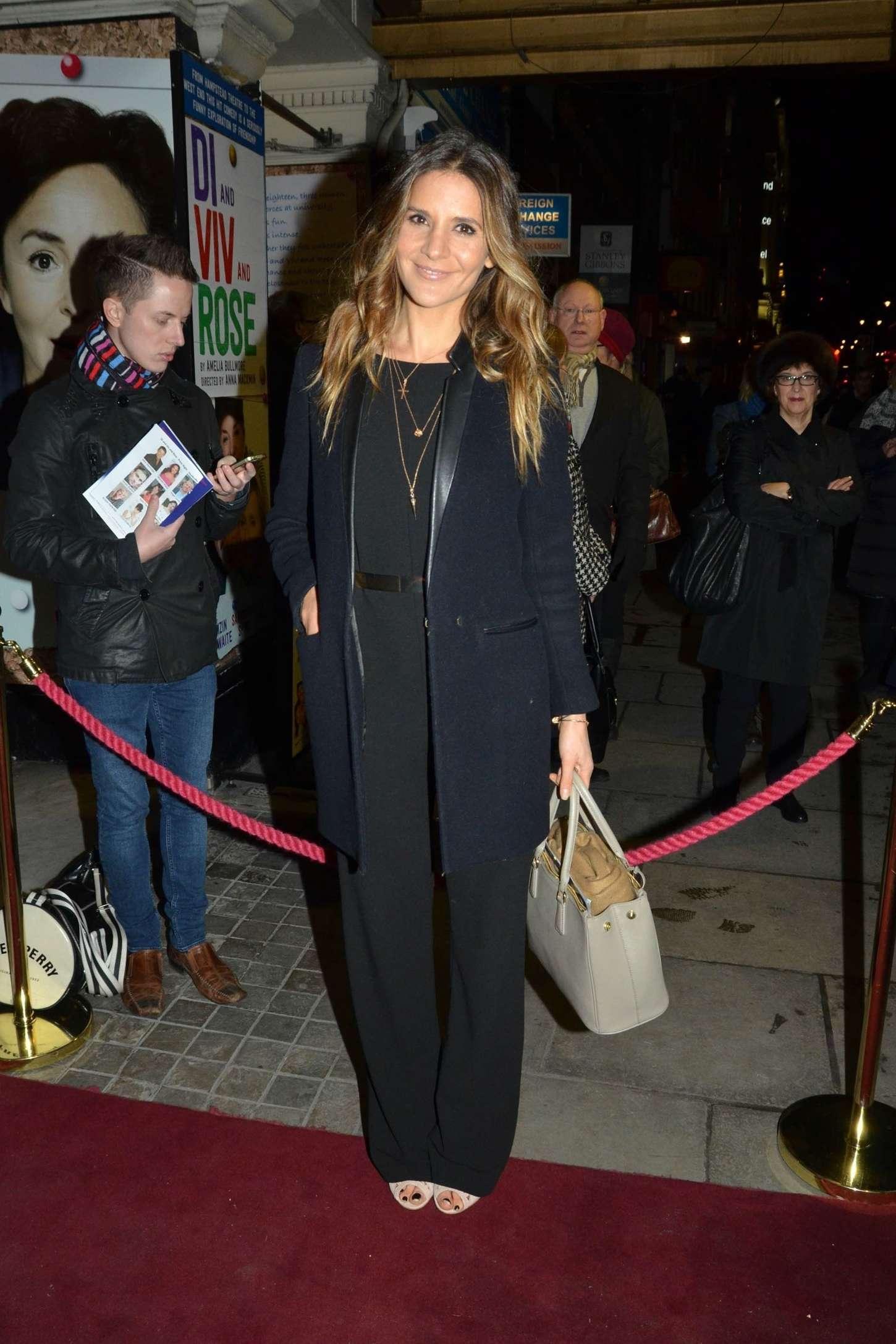Amanda Byram Di and Viv and Rose Press Night in London