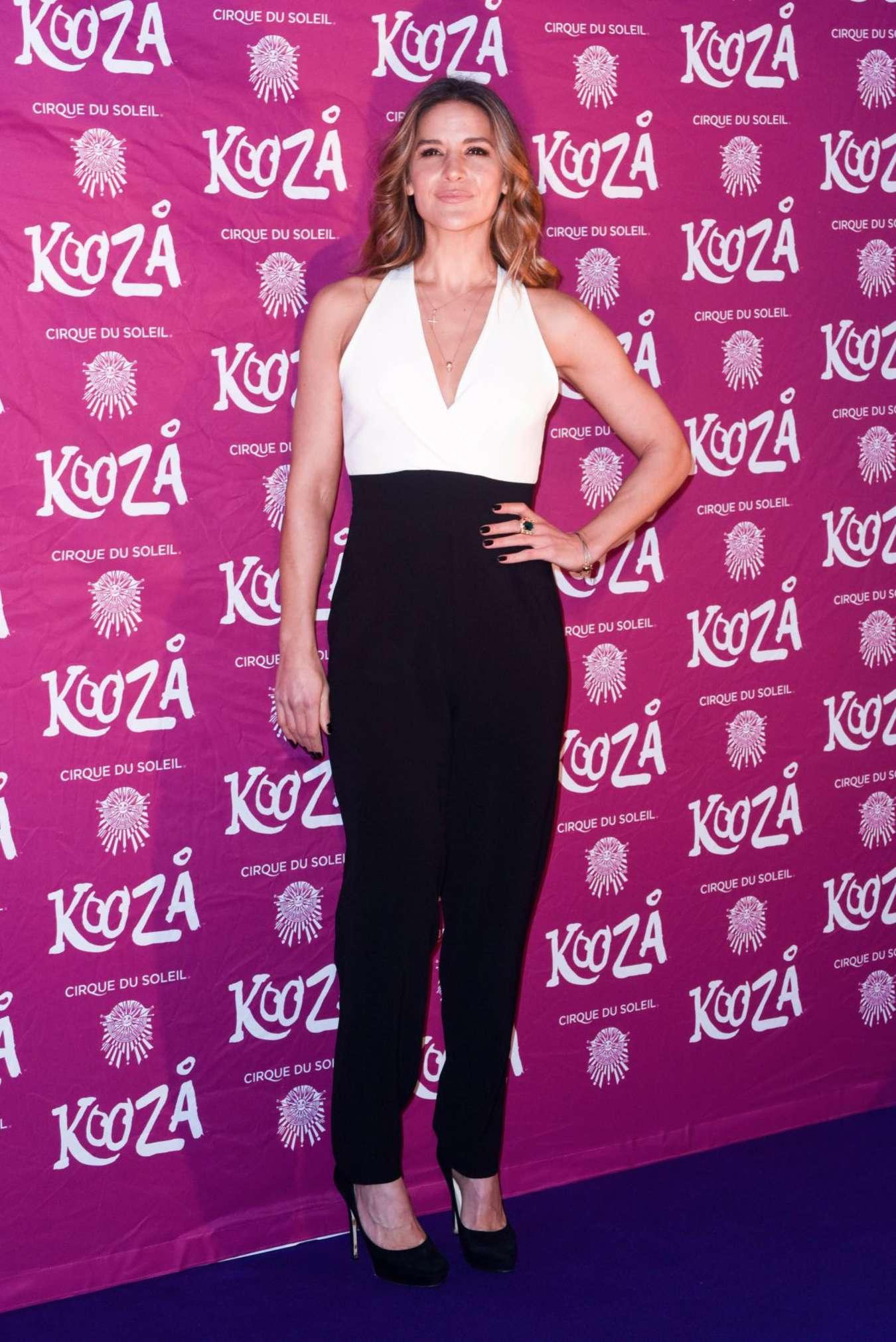 Amanda Byram Kooza By Cirque Du Soleil VIP Performance in London