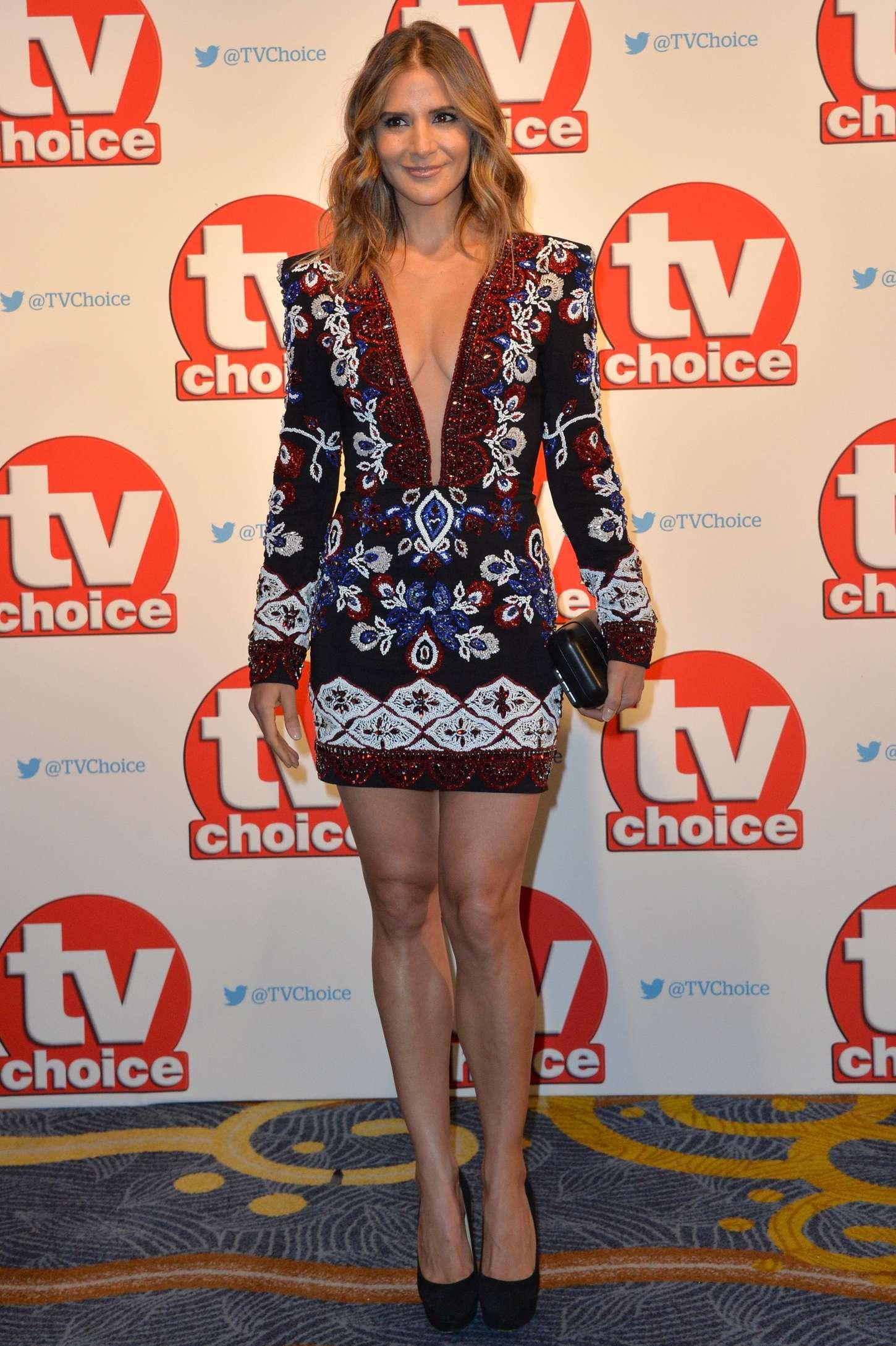 Amanda Byram TV Choice Awards in London